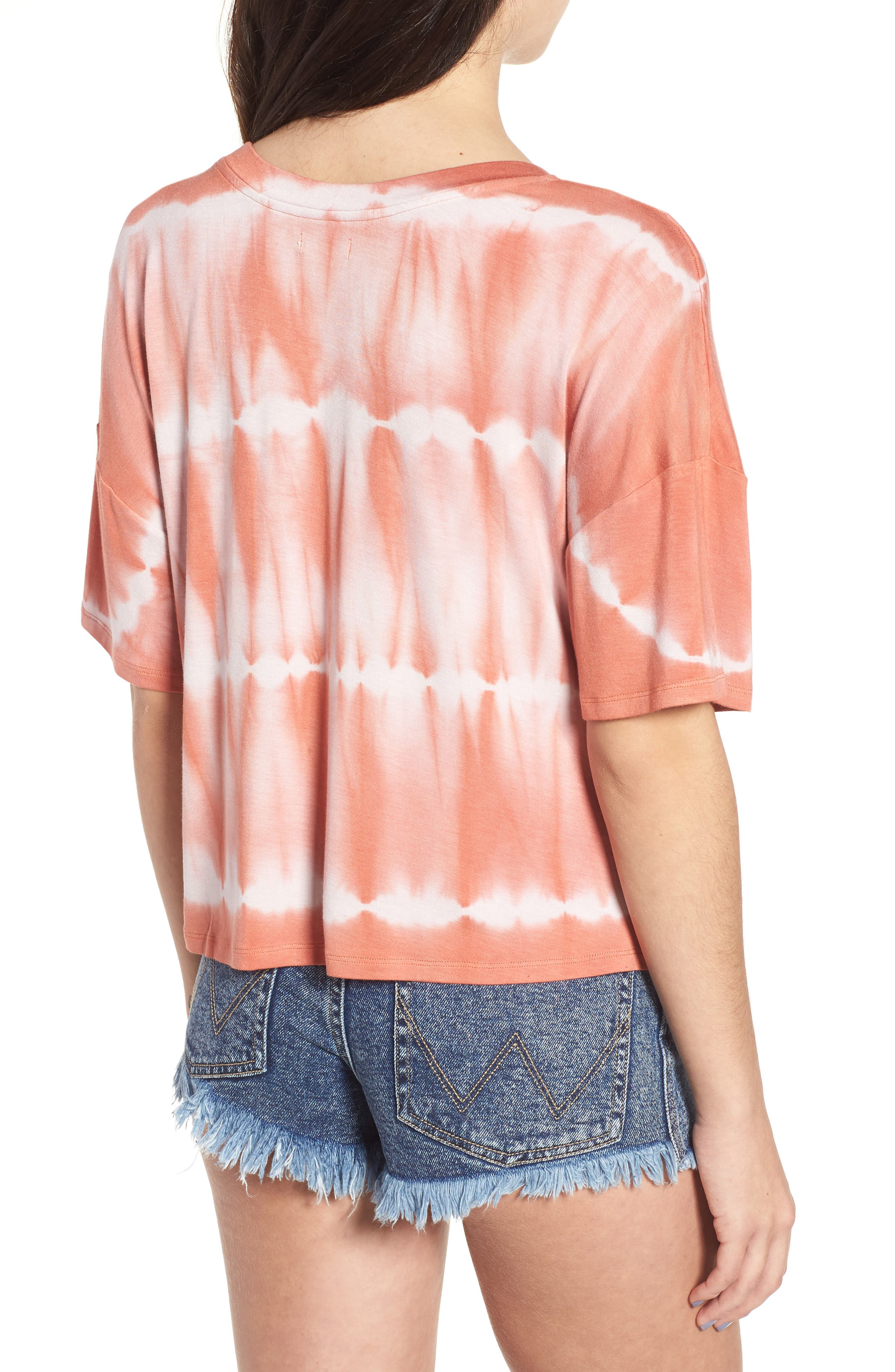 Tie Dye Tee,                             Alternate thumbnail 4, color,