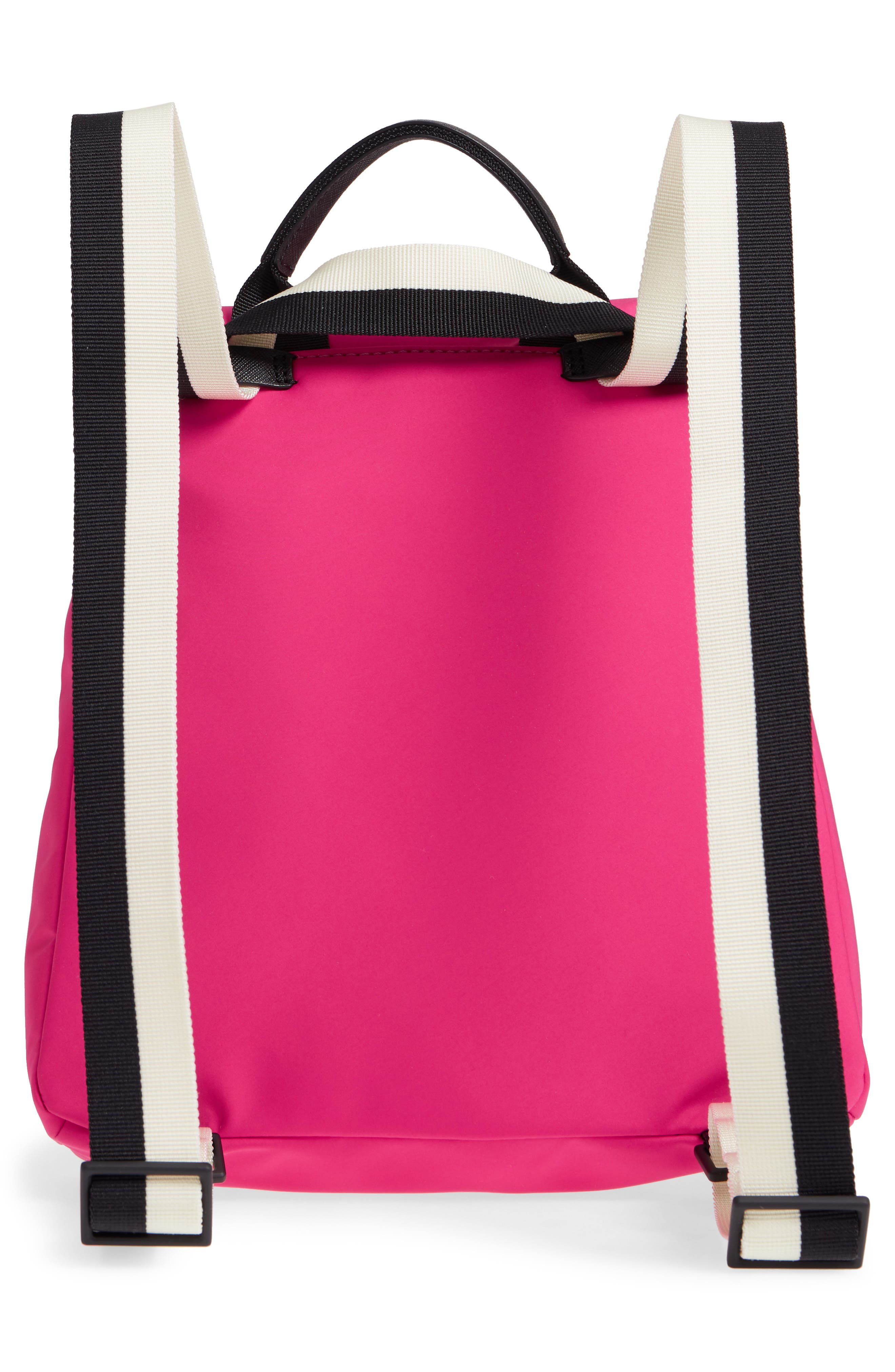 that's the spirit mini nylon convertible backpack,                             Alternate thumbnail 4, color,                             KINETIC PINK