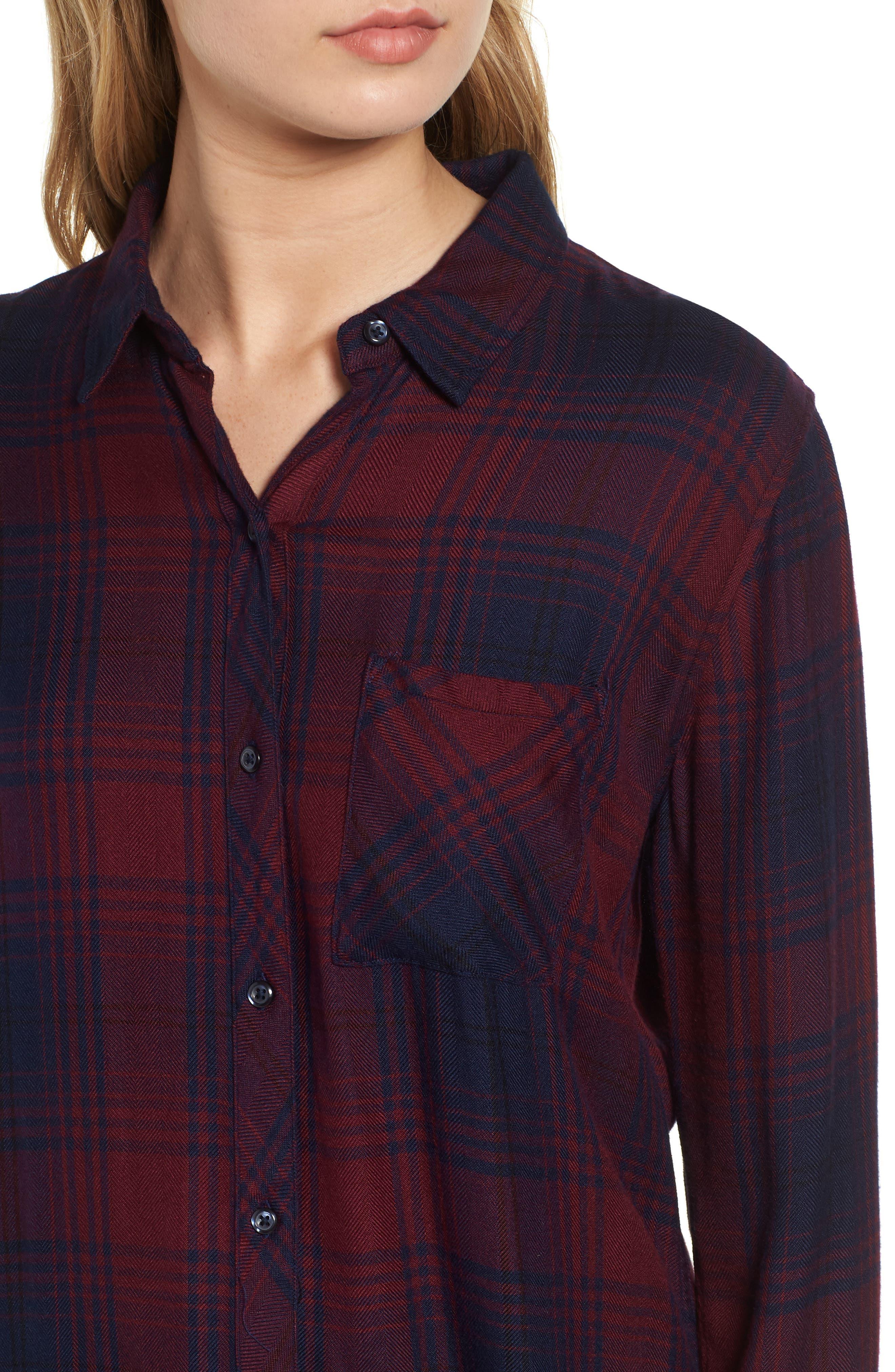 Hunter Plaid Shirt,                             Alternate thumbnail 462, color,