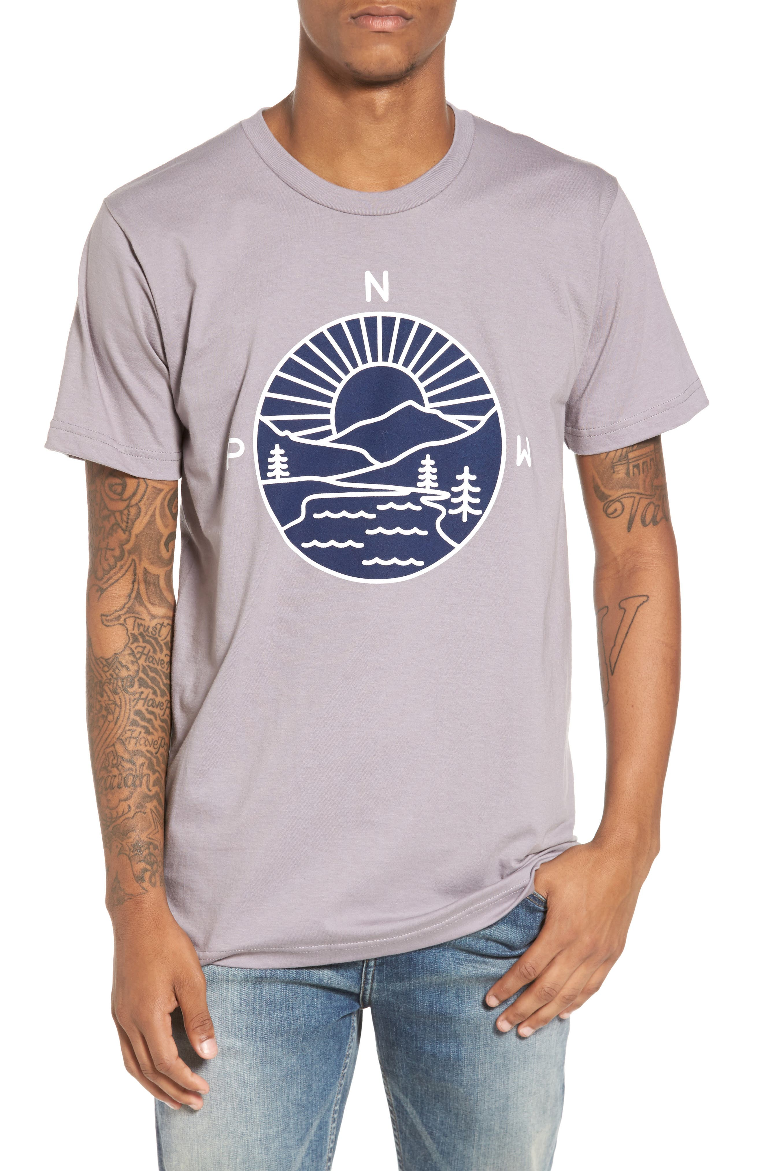 PNW Explorer T-Shirt,                         Main,                         color, 020