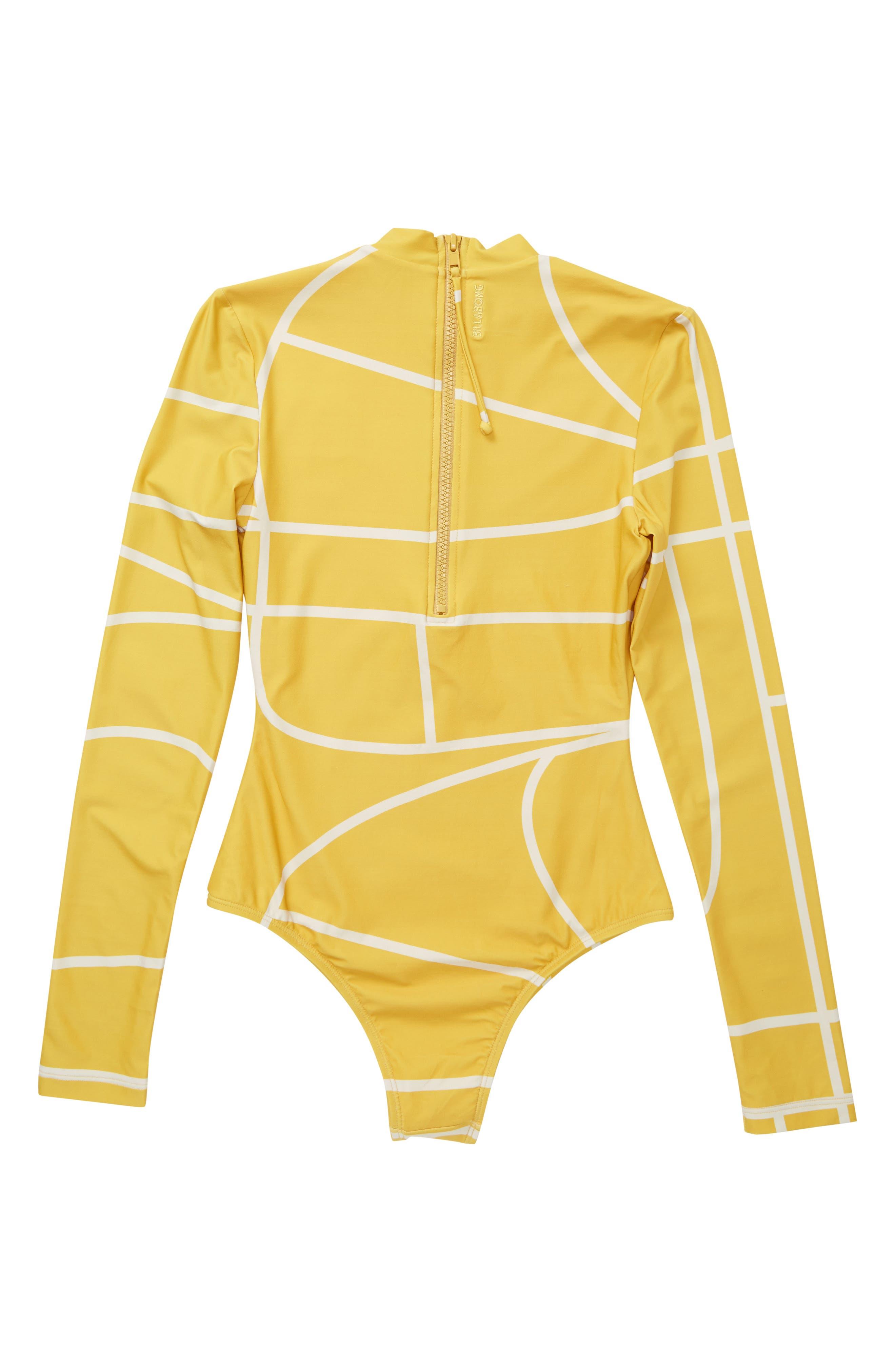 Babylon Rashguard Bodysuit,                             Alternate thumbnail 2, color,                             710
