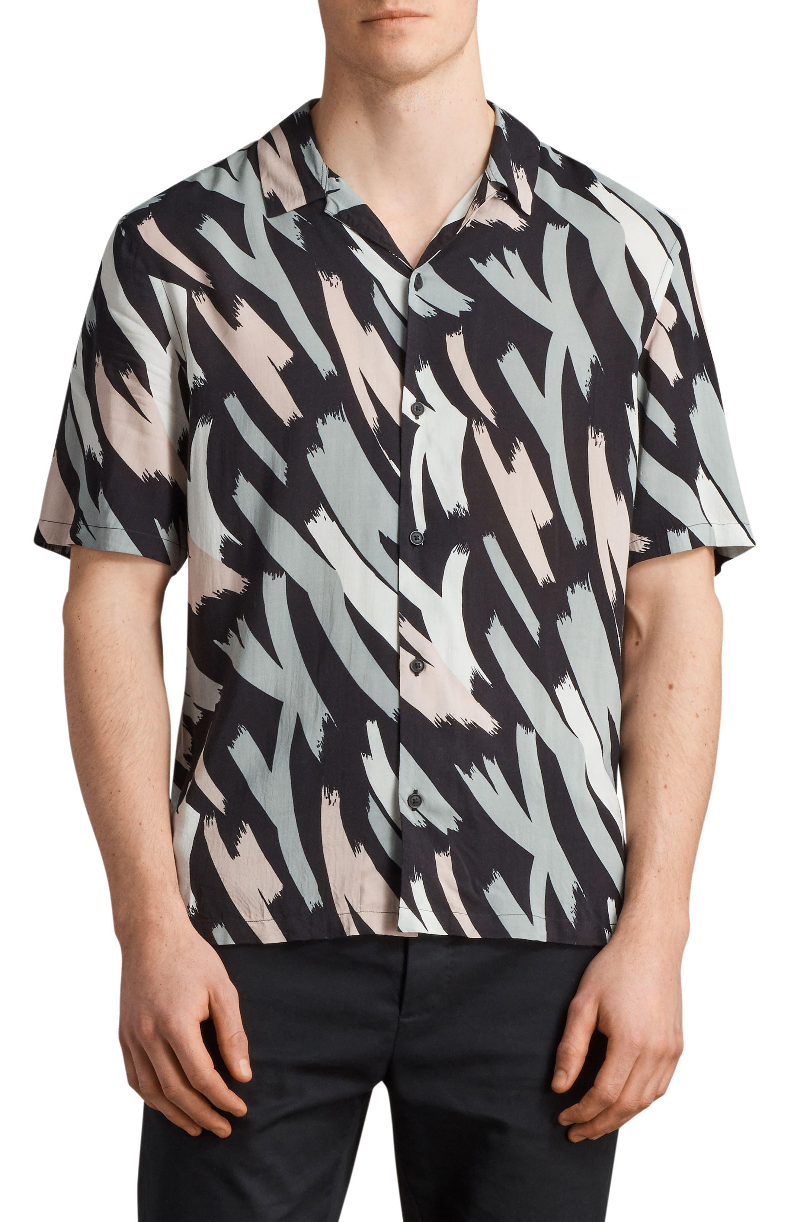 Koloa Slim Fit Short Sleeve Sport Shirt,                         Main,                         color, 008