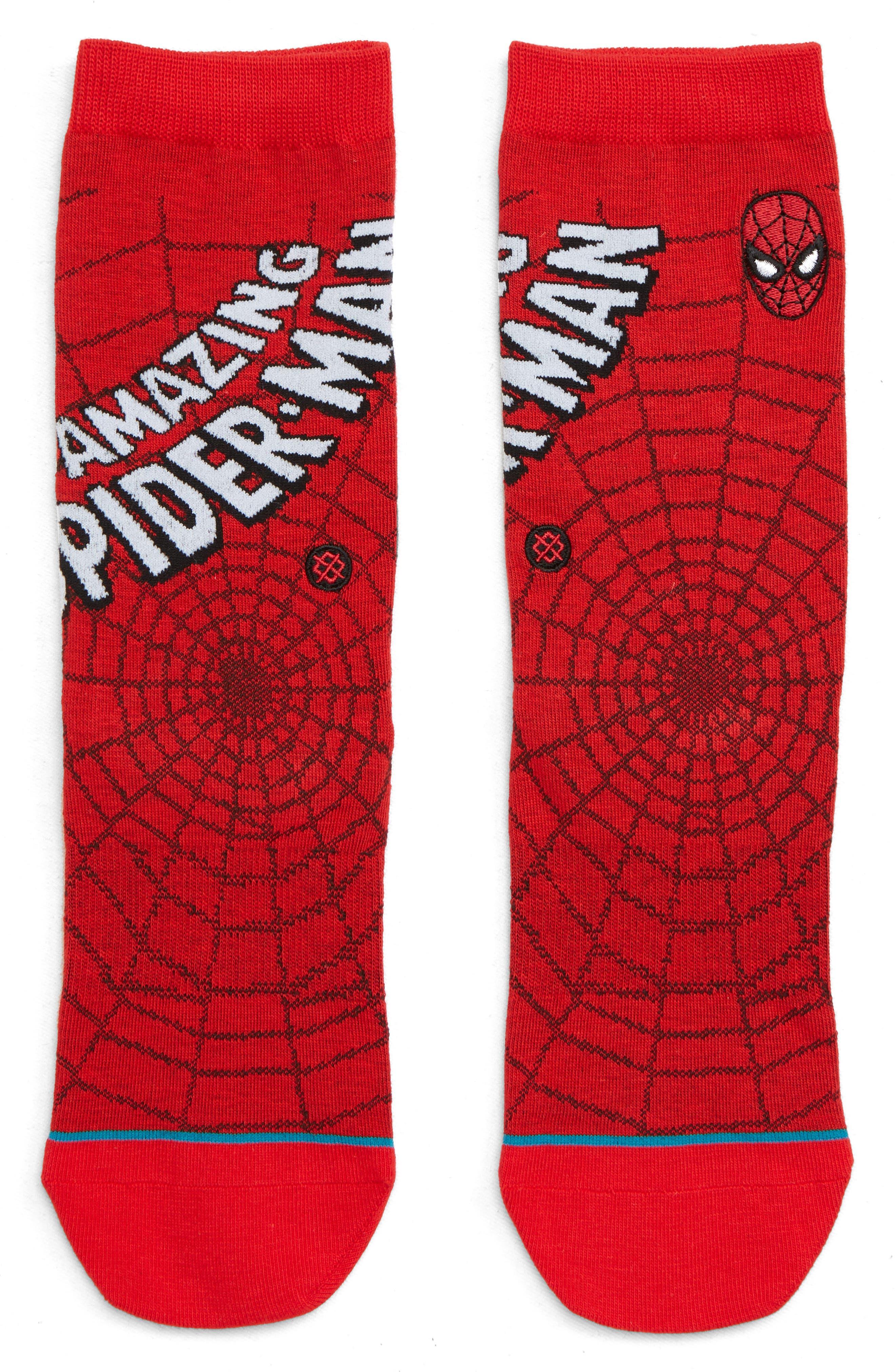 Boys Stance Amazing Spiderman Socks