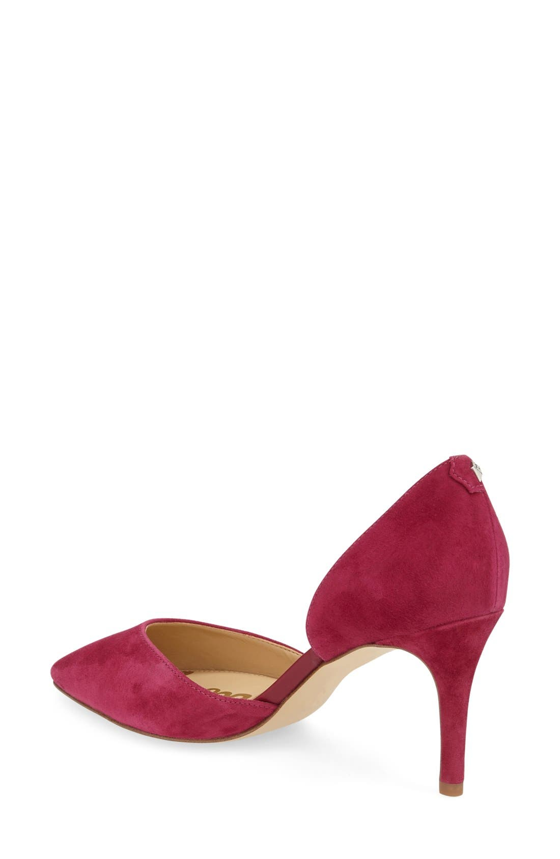 'Telsa' d'Orsay Pointy Toe Pump,                             Alternate thumbnail 31, color,