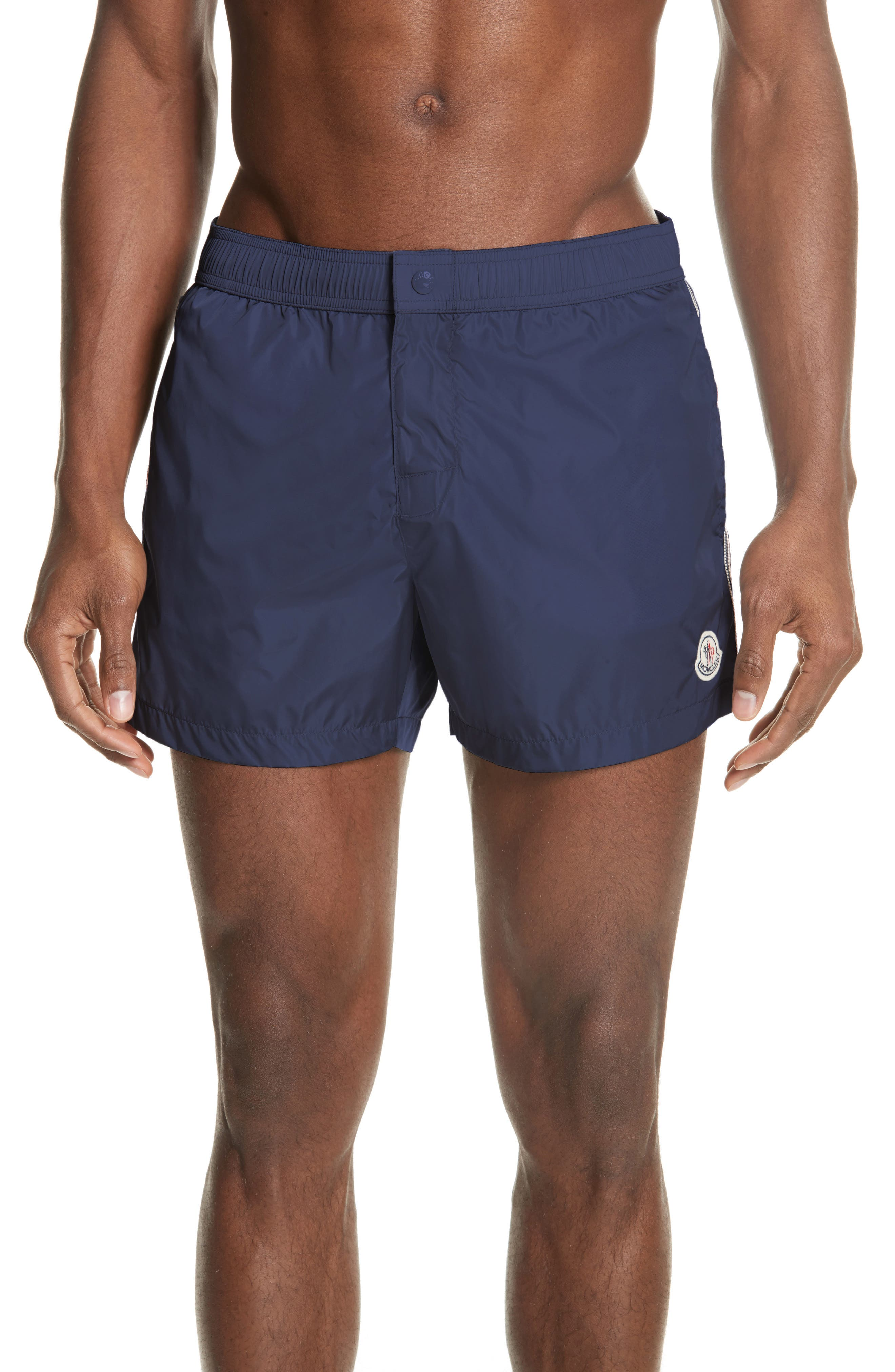 Boxer Mare Swim Shorts,                         Main,                         color, BLUE