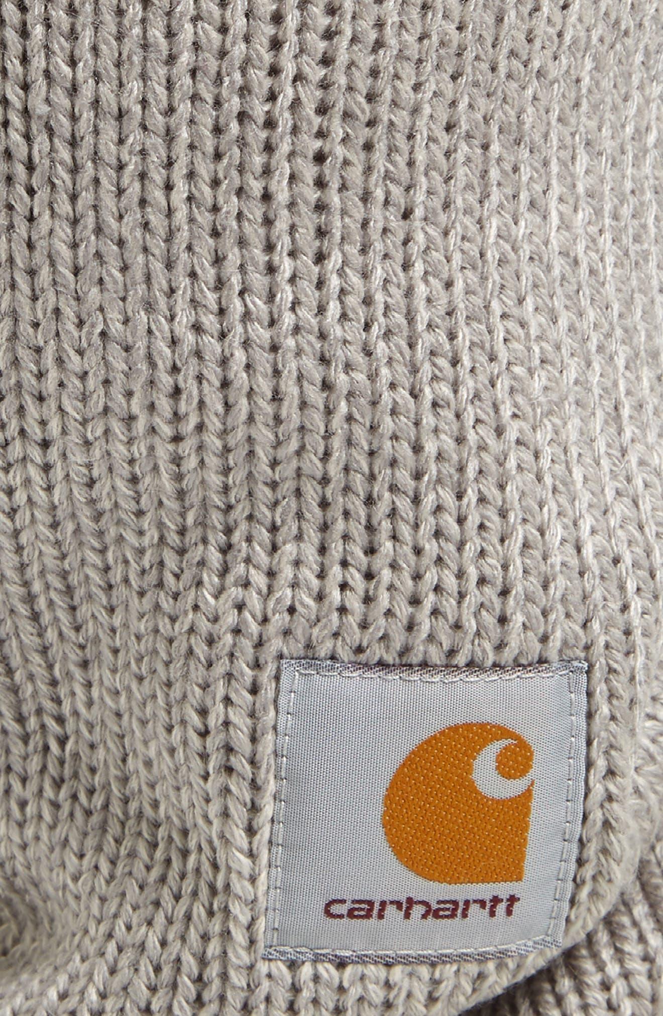 Knit Storm Mask,                             Alternate thumbnail 2, color,                             GREY HEATHER