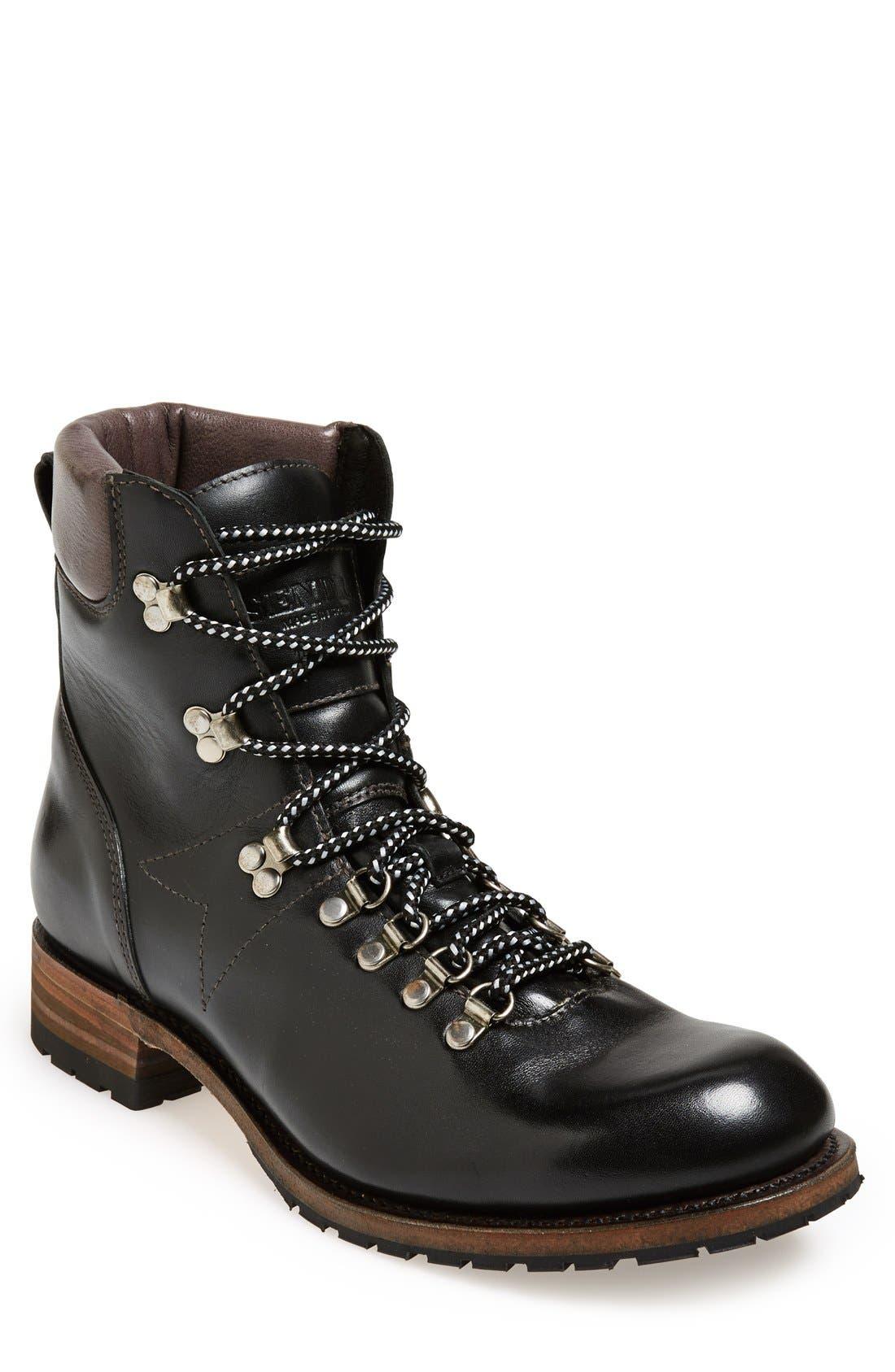 'Alpine' Round Toe Boot,                         Main,                         color, 001