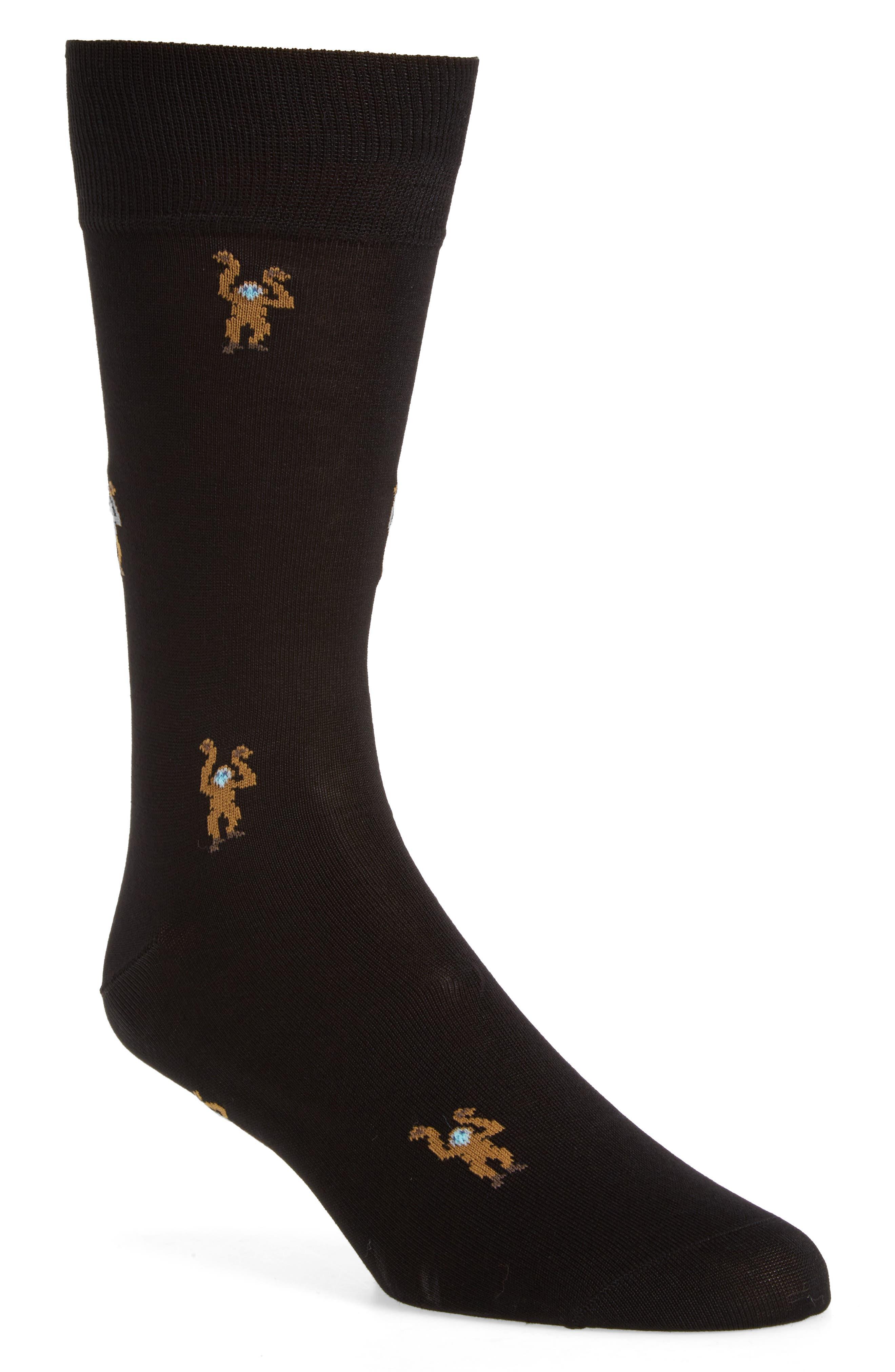 Monkey Socks,                             Main thumbnail 1, color,                             001