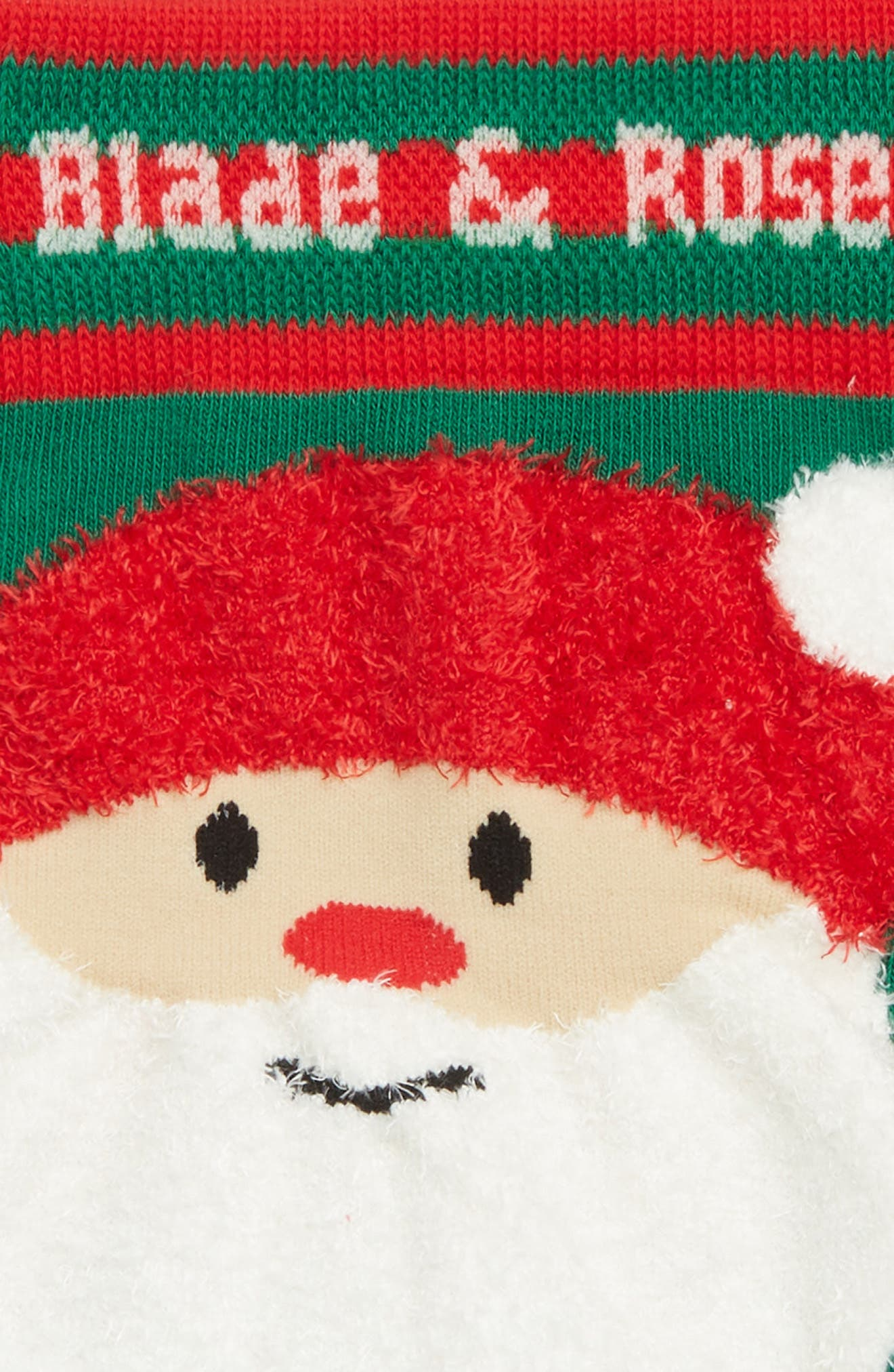 Santa Leggings,                             Alternate thumbnail 3, color,                             RED/ GREEN/ DEEP RED
