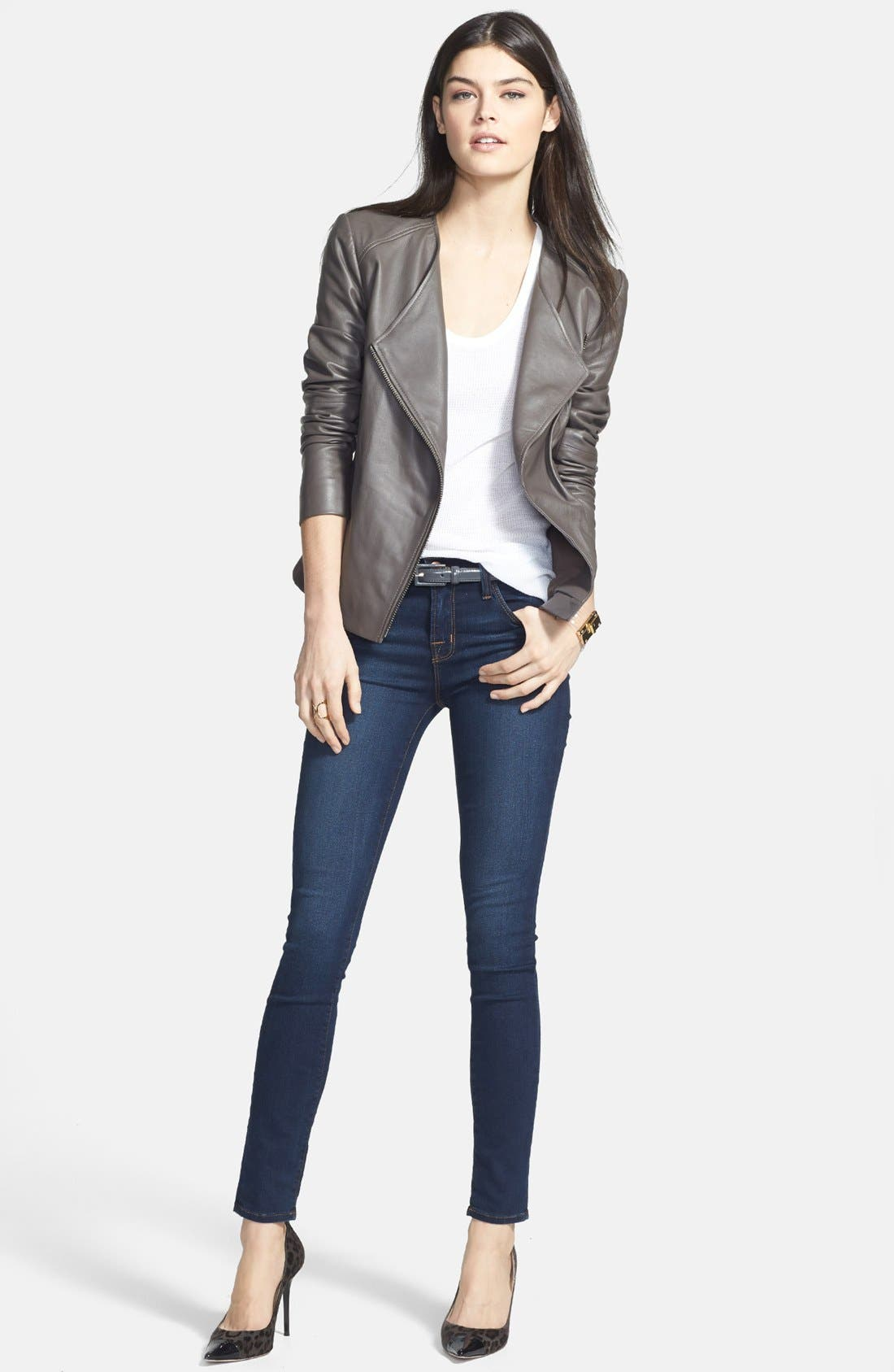 '811' Ankle Skinny Jeans,                             Alternate thumbnail 21, color,
