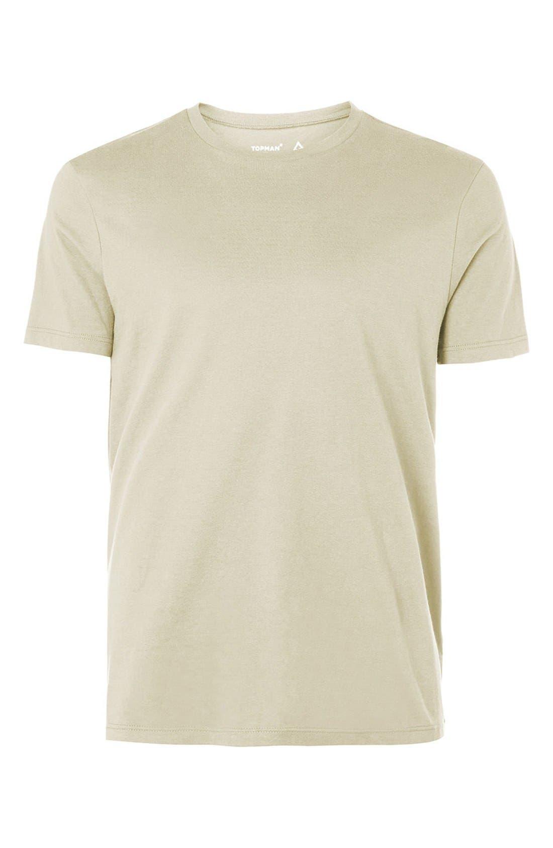 Slim Fit Crewneck T-Shirt,                             Alternate thumbnail 400, color,