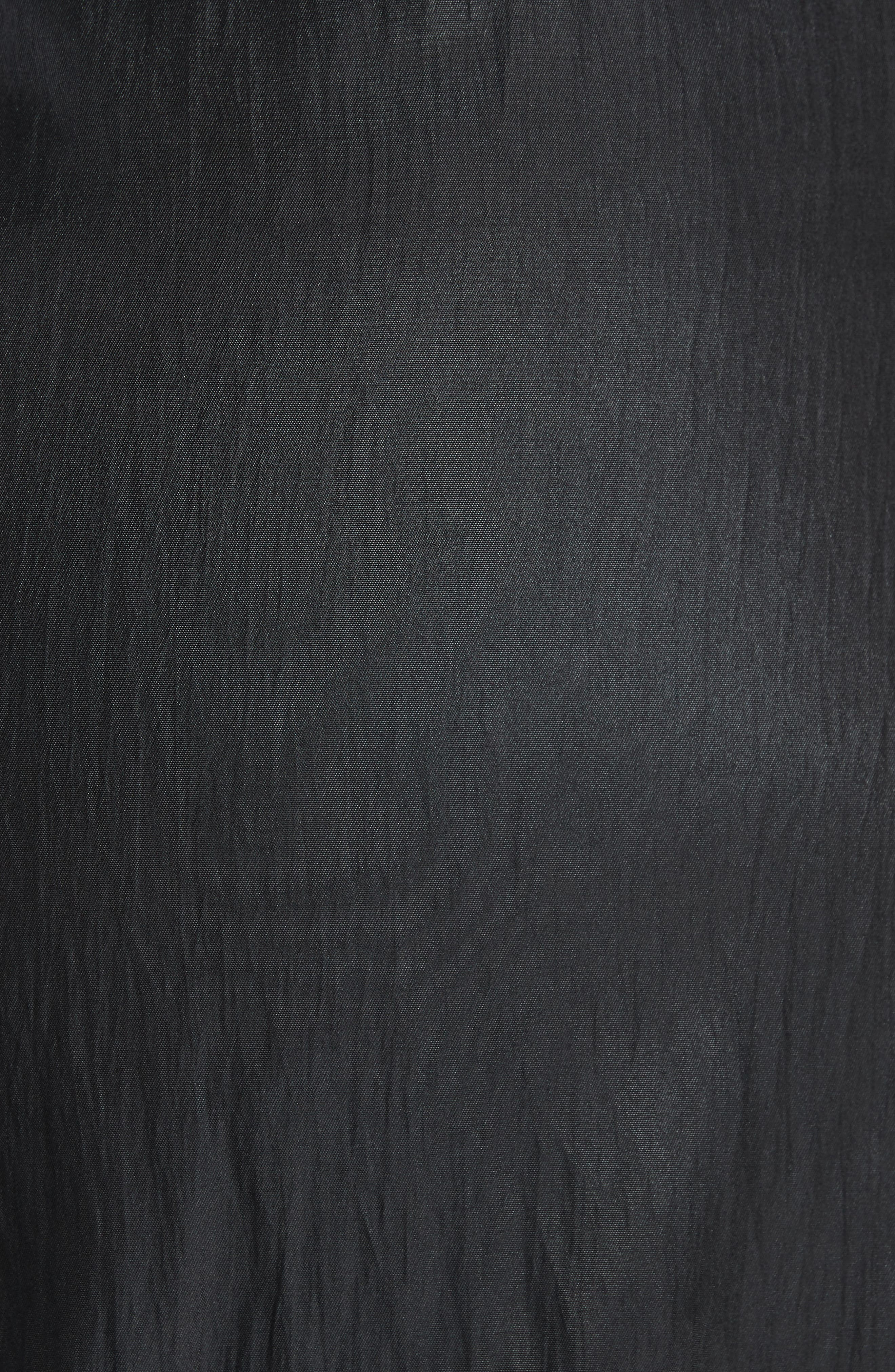 Lace Midi Slipdress,                             Alternate thumbnail 5, color,                             001