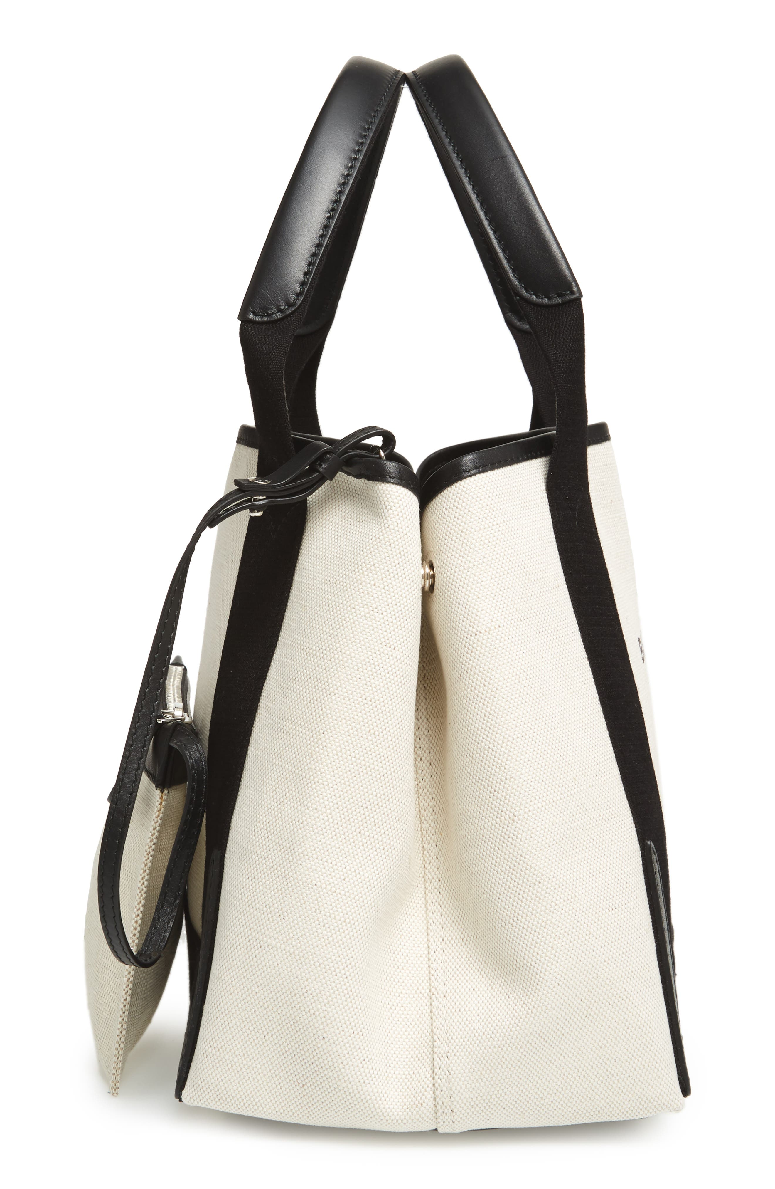 Small Cabas Canvas Tote,                             Alternate thumbnail 5, color,                             277