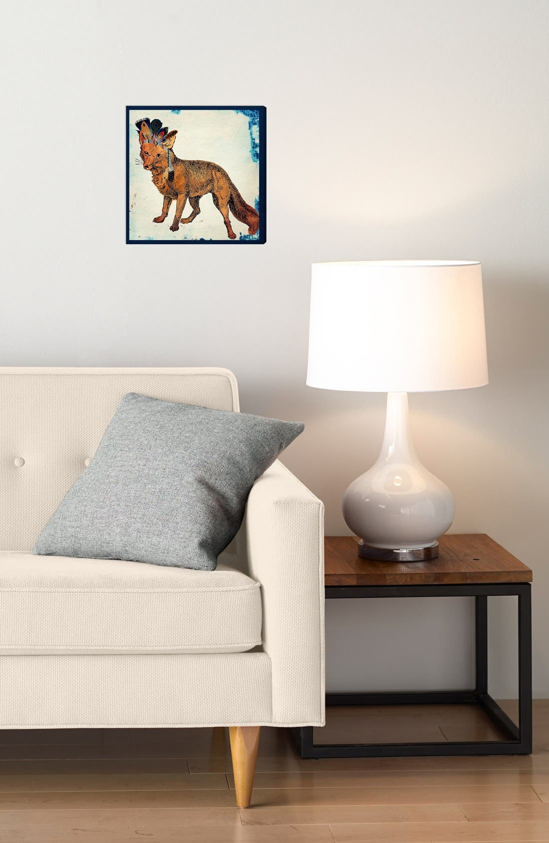 'Wild Fox' Wall Art,                             Alternate thumbnail 2, color,                             250