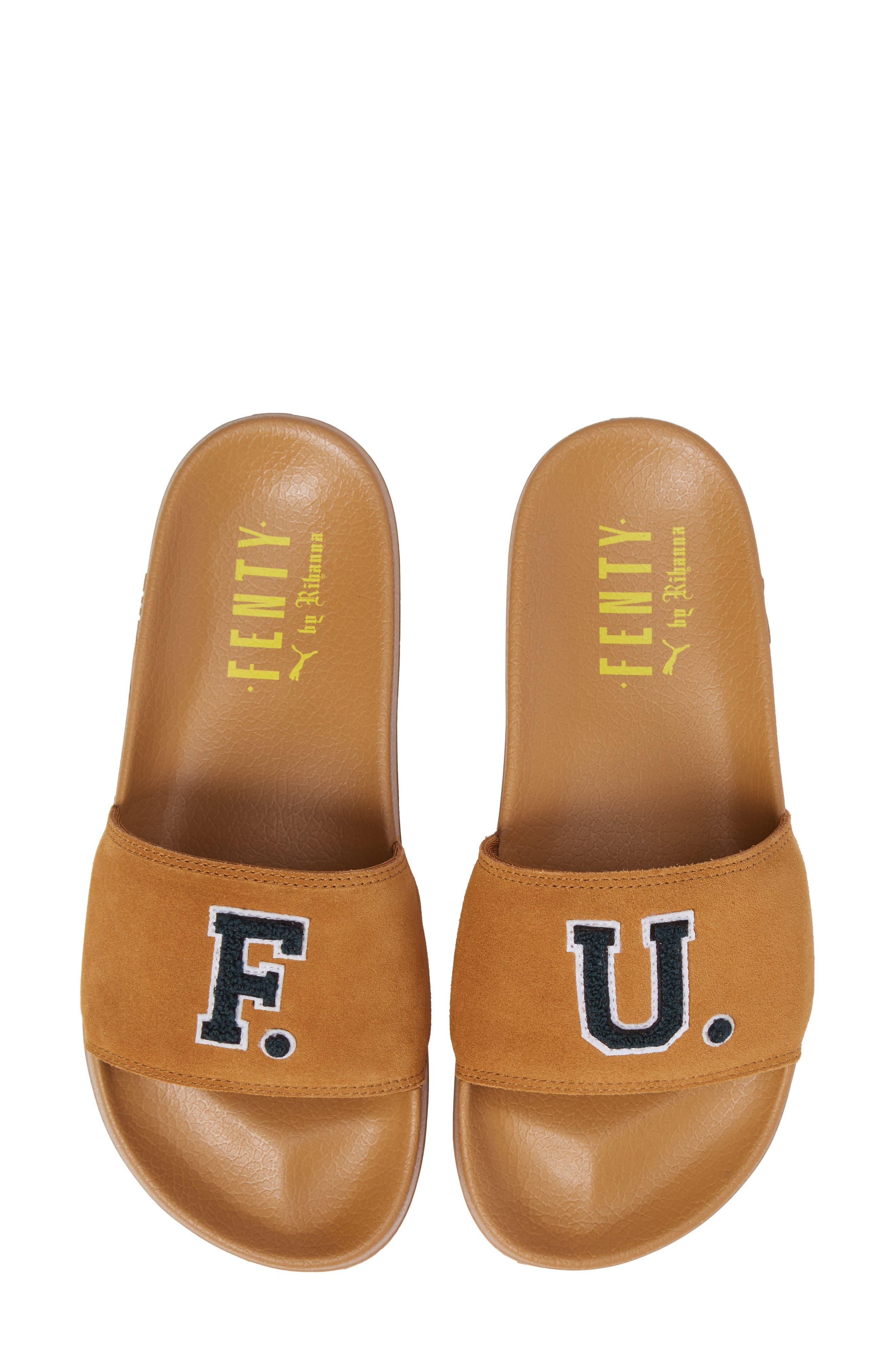 FENTY PUMA by Rihanna Lead Cat Slide Sandals,                             Alternate thumbnail 20, color,