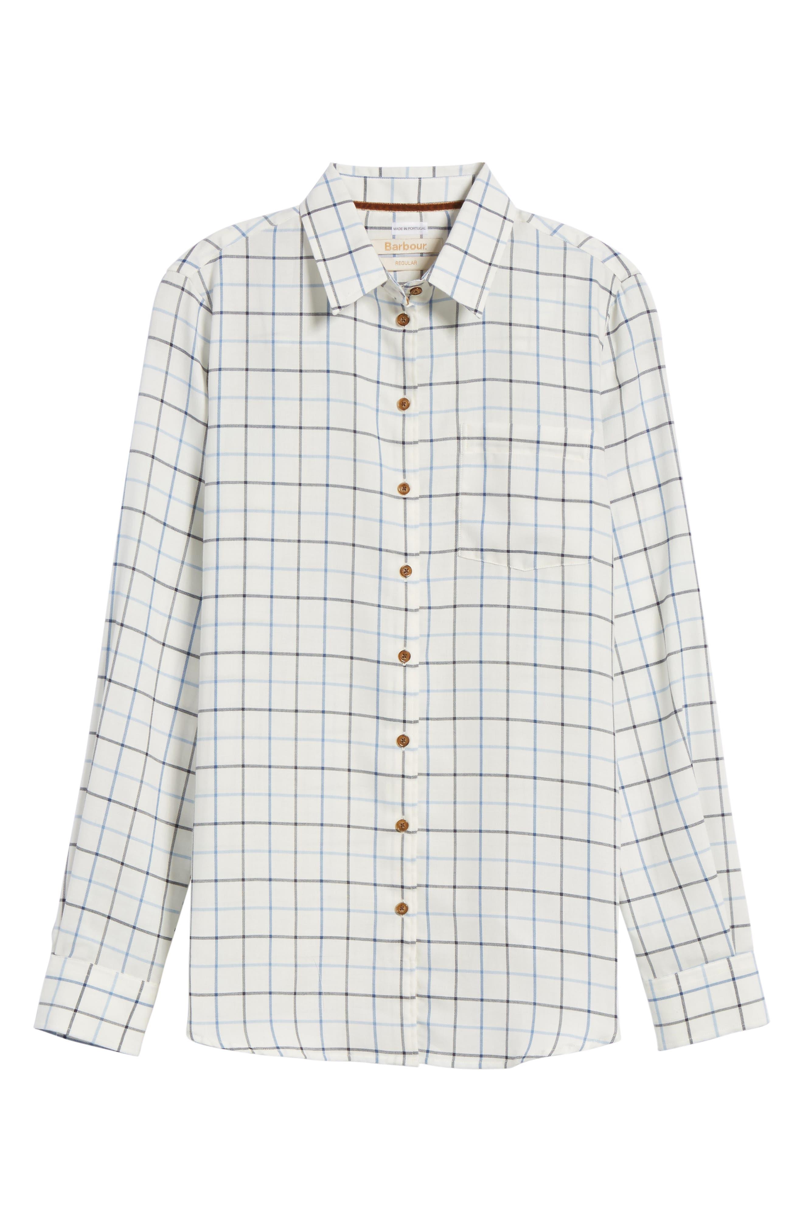 Triplebar Check Shirt,                             Alternate thumbnail 6, color,                             450