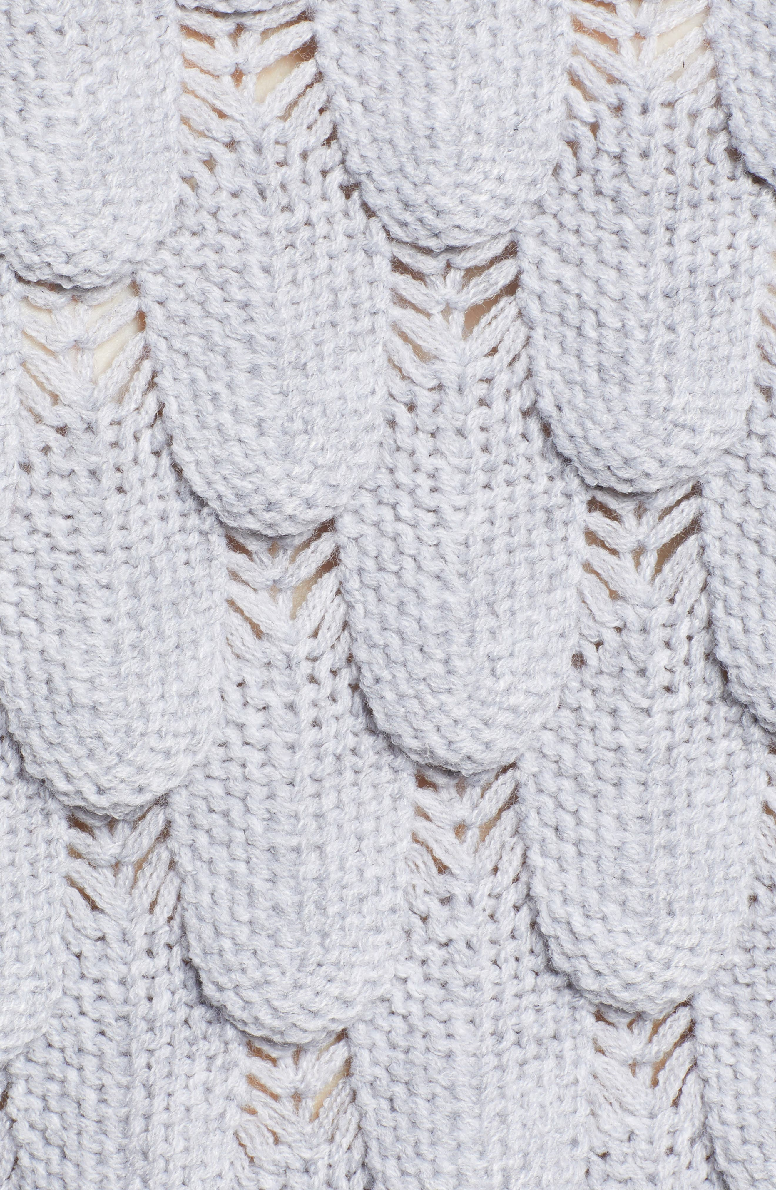 Scallop Stitch Sweater,                             Alternate thumbnail 5, color,                             038