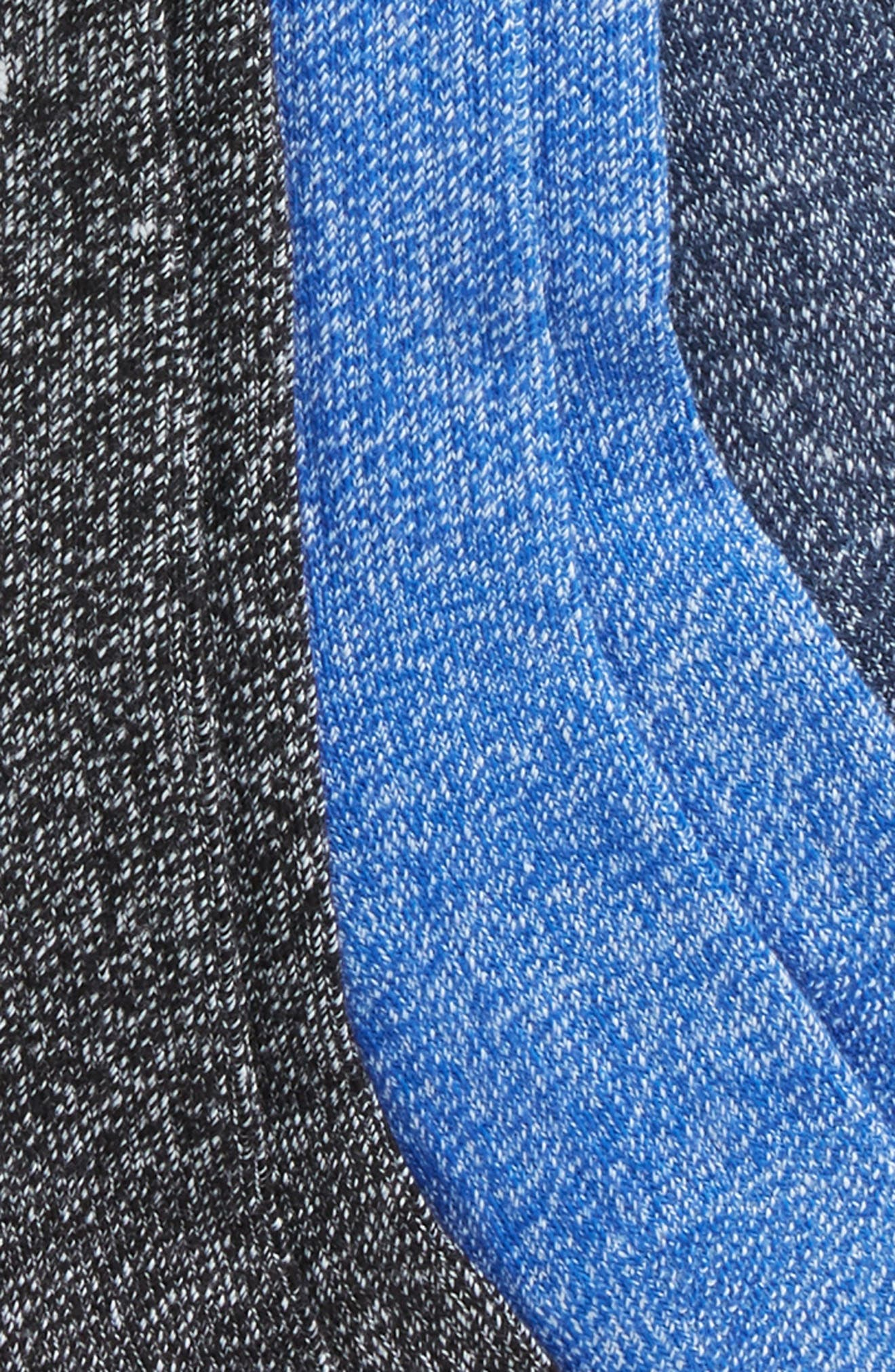 Performance 3-Pack Cushioned Crew Socks,                             Alternate thumbnail 5, color,