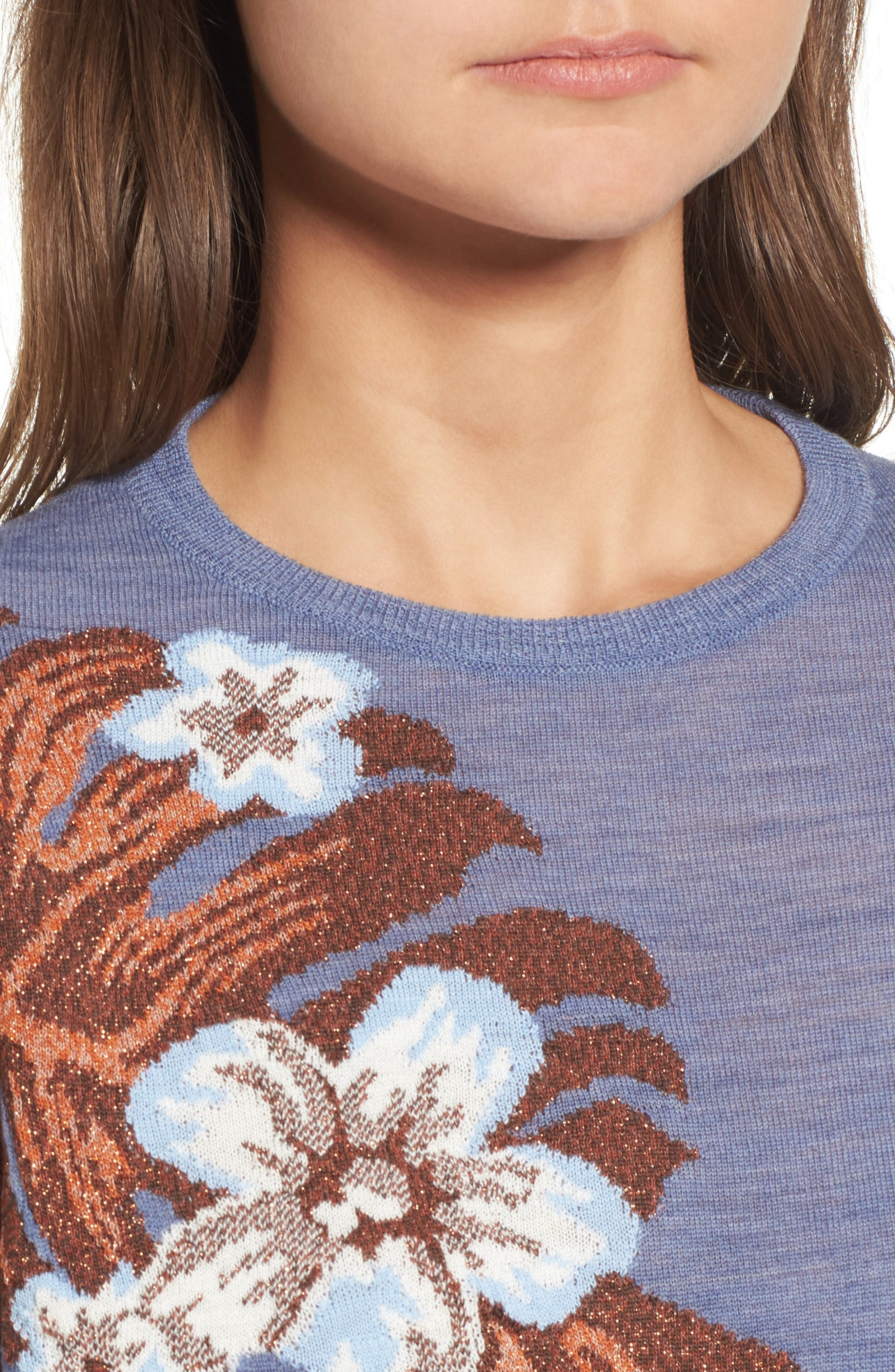 Blupalm Sweater,                             Alternate thumbnail 4, color,