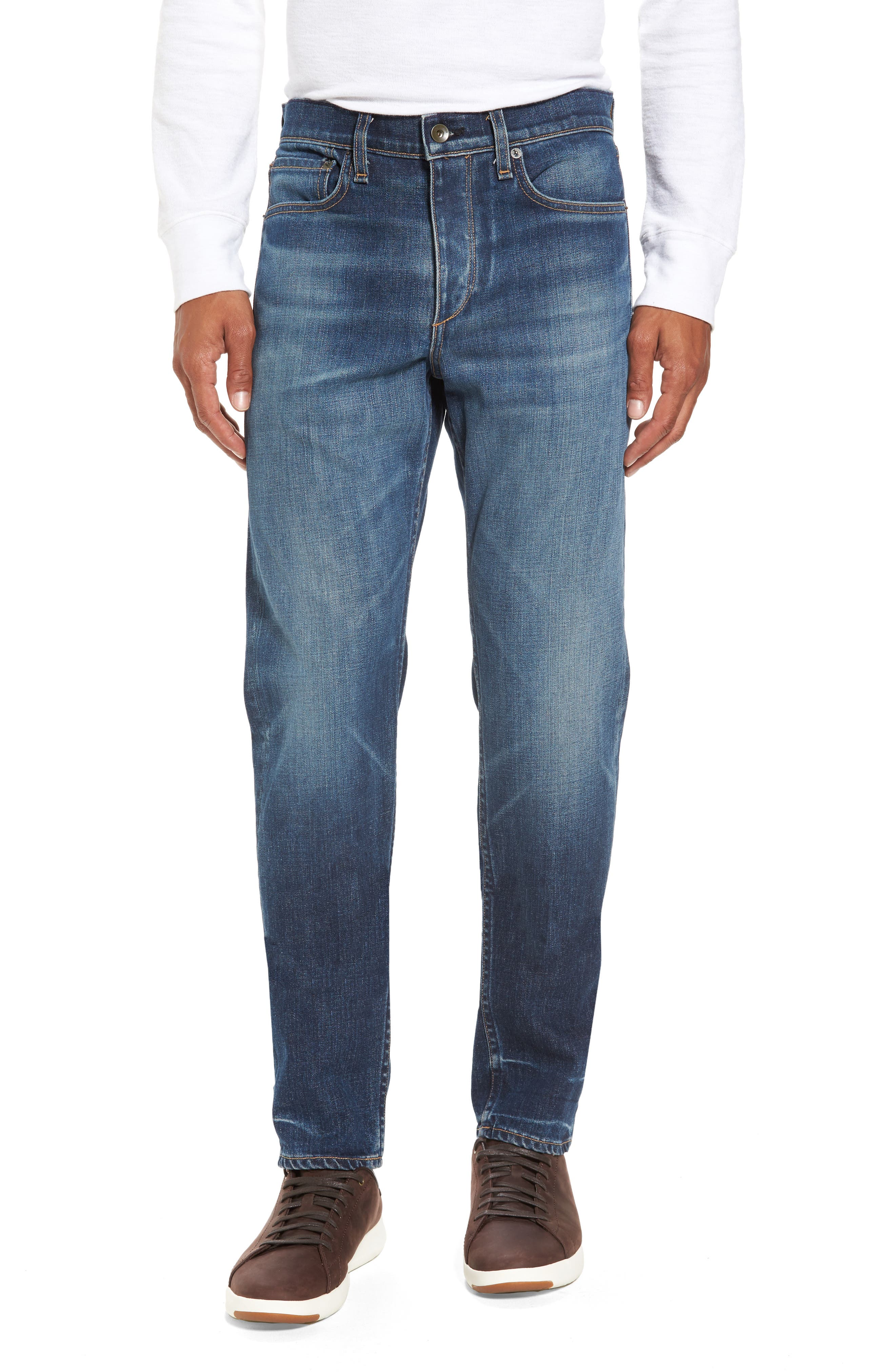 Fit 2 Slim Fit Jeans,                         Main,                         color, LINDEN