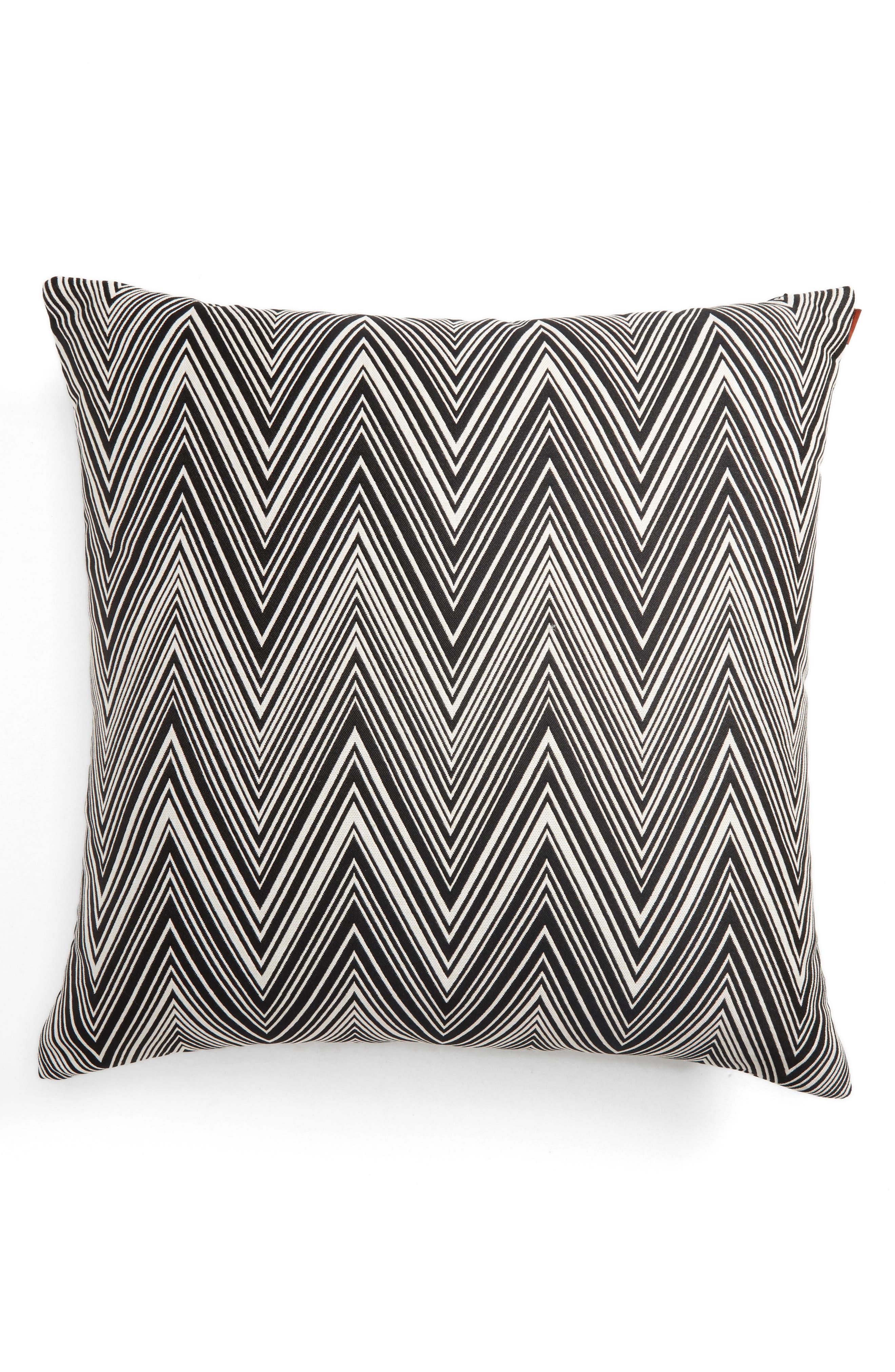 Chevron Accent Pillow,                             Alternate thumbnail 2, color,                             020