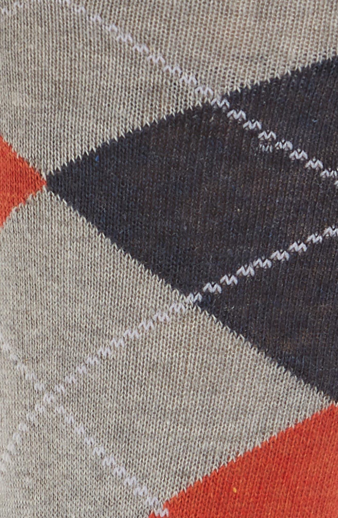 Argyle Socks,                             Alternate thumbnail 2, color,                             LIGHT GREY