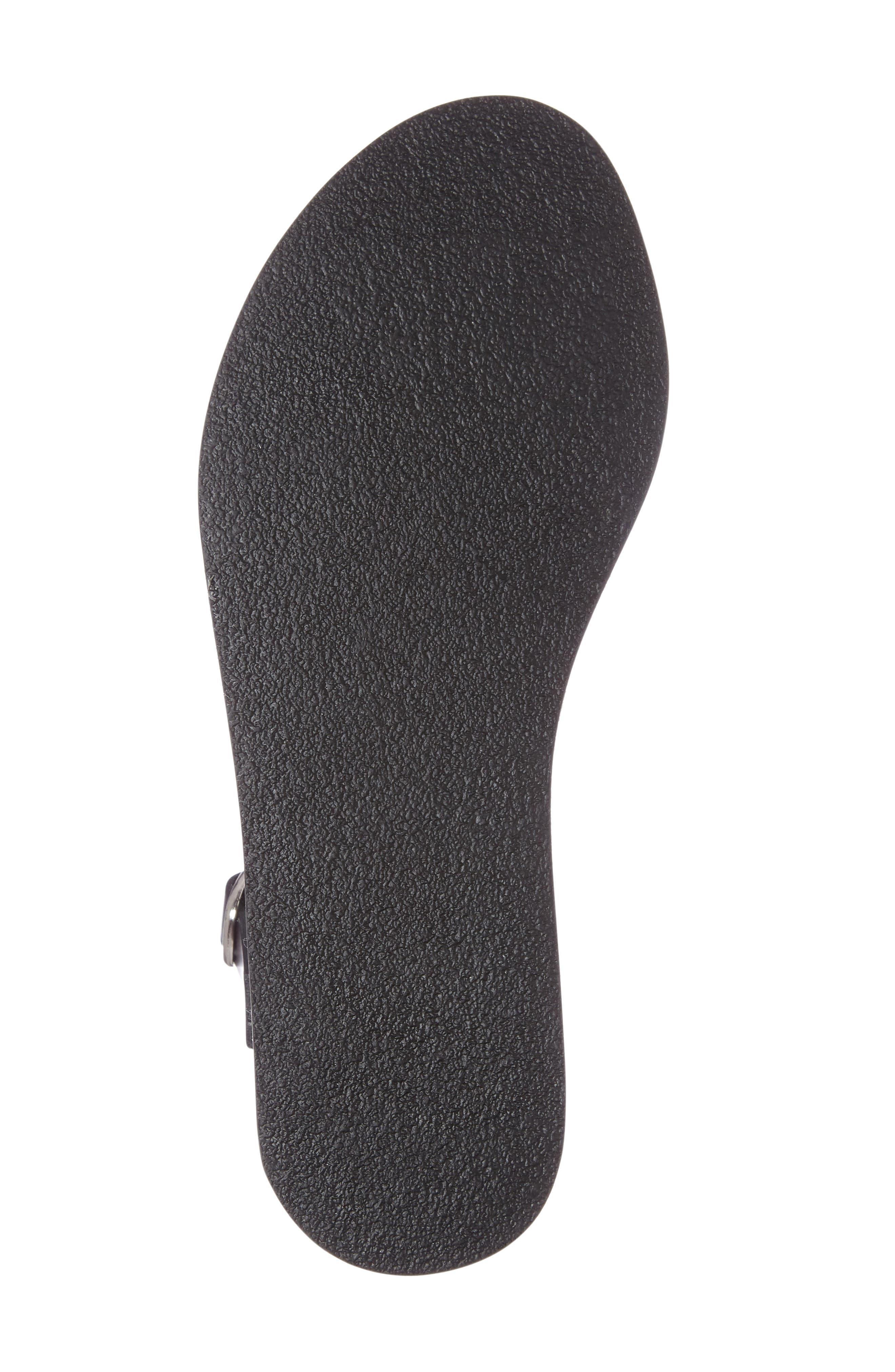 Deluxe Sandal,                             Alternate thumbnail 4, color,                             001