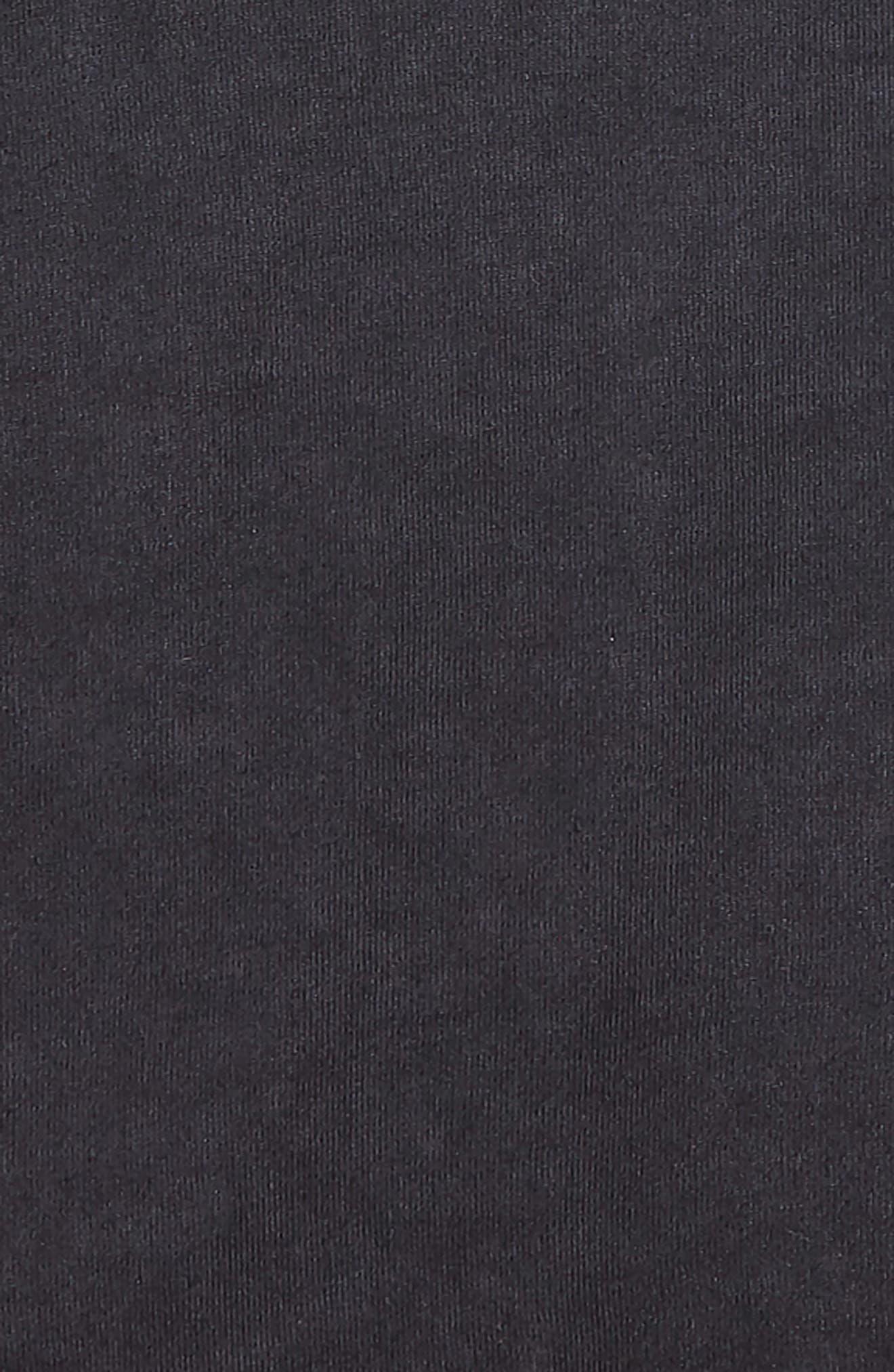 Ninja Hooded Shirt,                             Alternate thumbnail 2, color,                             DYED BLACK