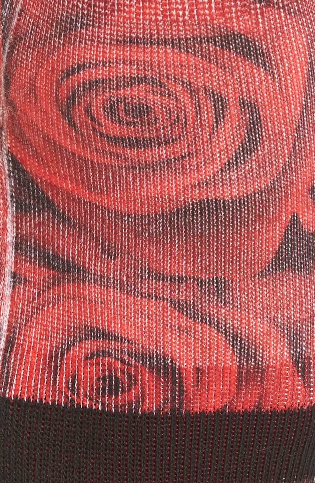 'Romance' Crew Socks,                             Alternate thumbnail 2, color,                             600