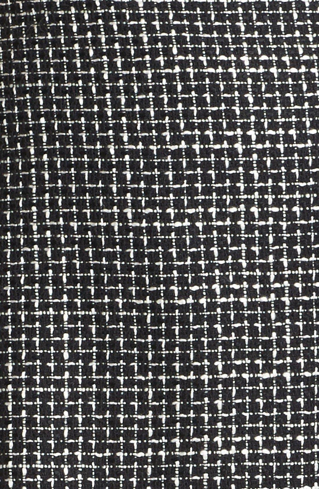 Pleated A-Line Skirt,                             Alternate thumbnail 2, color,                             001