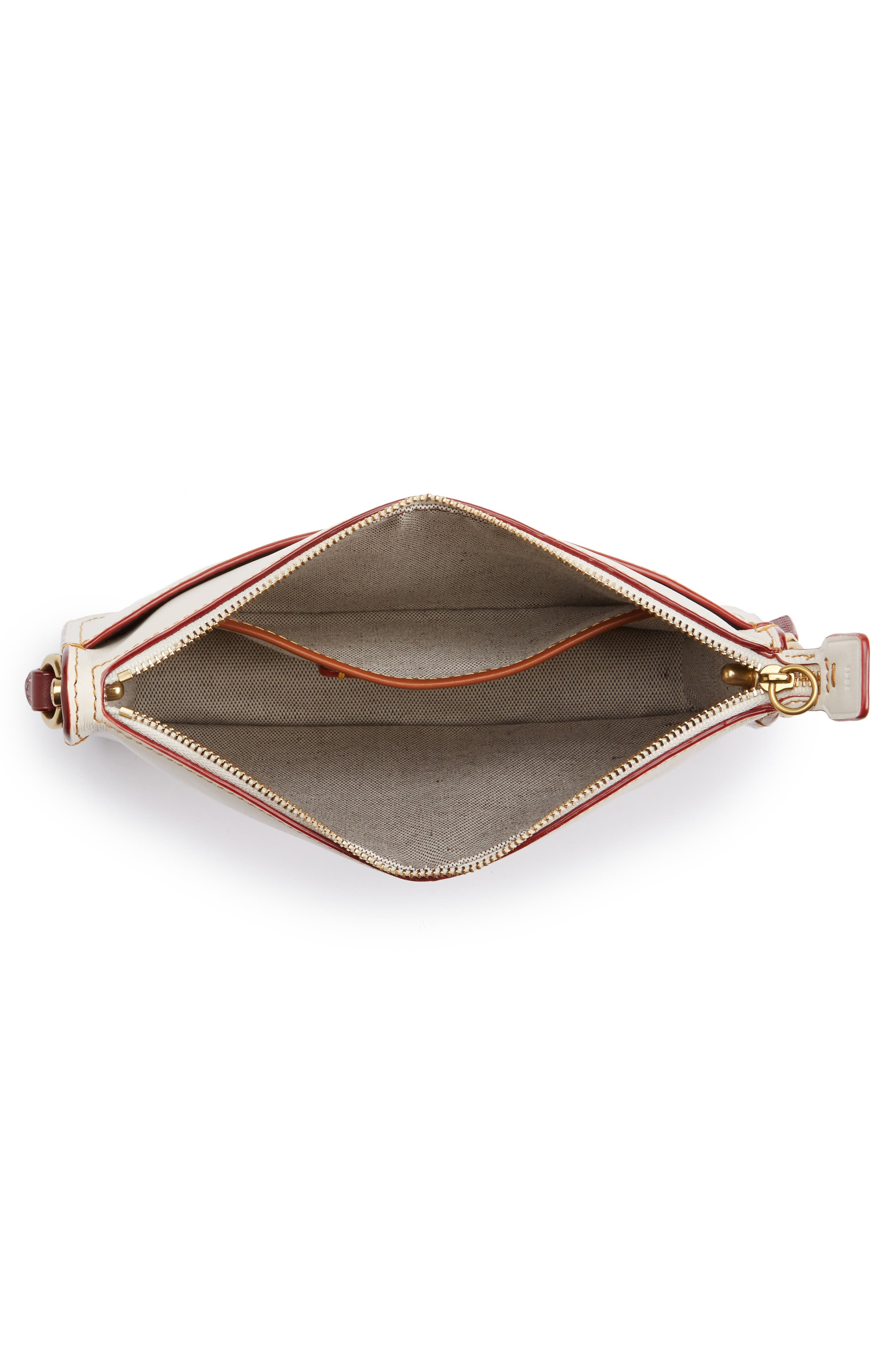 Colorblock Soho Leather Crossbody Bag,                             Alternate thumbnail 4, color,                             250