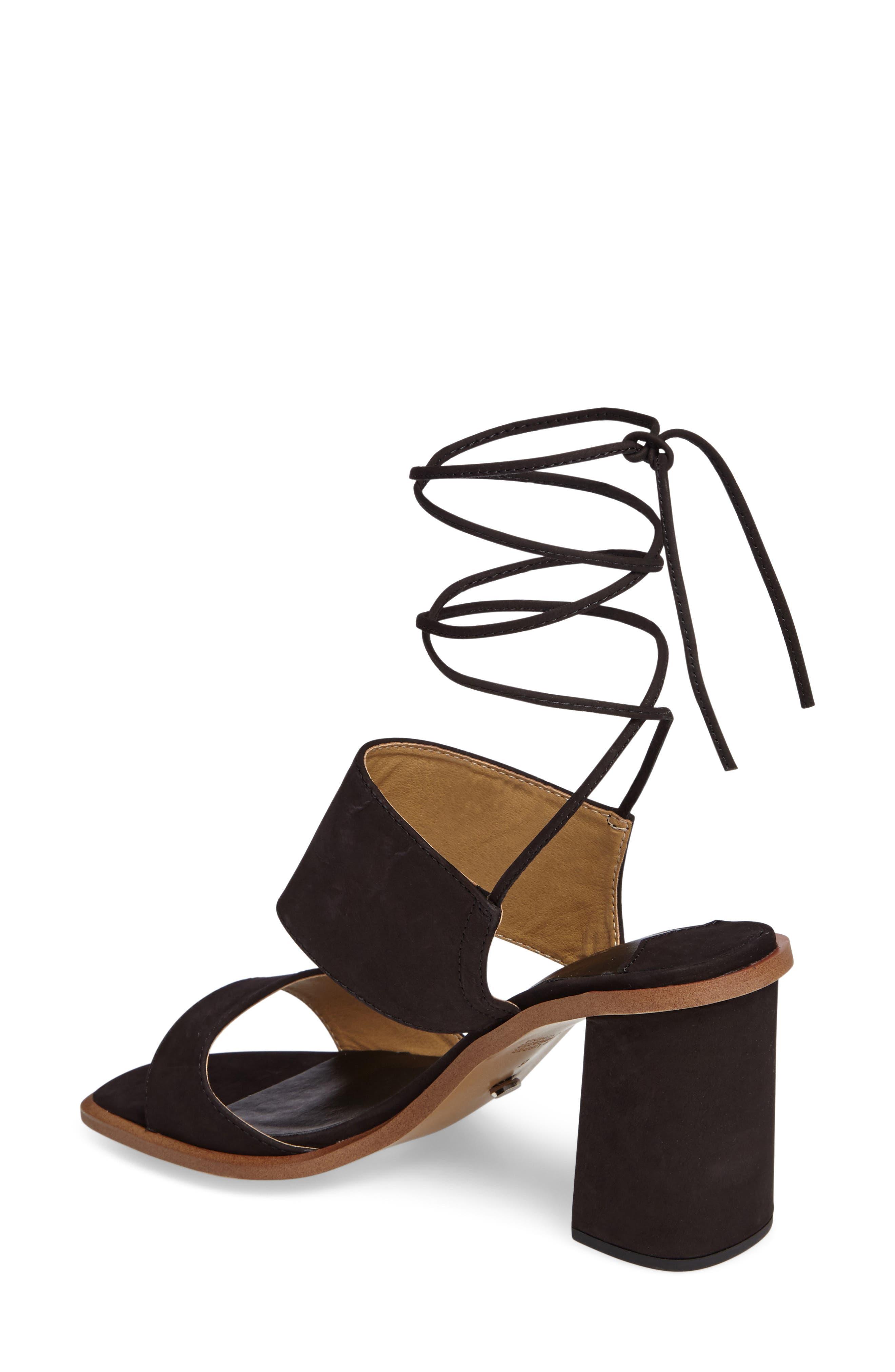 Cuoco Ankle Strap Sandal,                             Alternate thumbnail 2, color,                             001