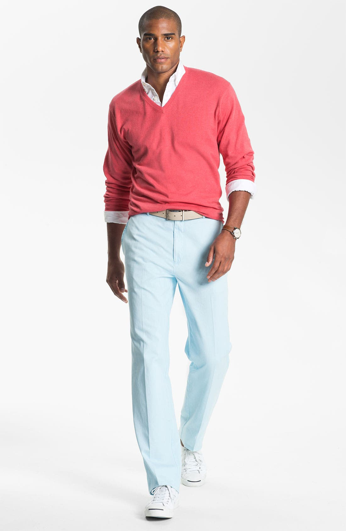 Garment Washed Twill Pants,                             Alternate thumbnail 51, color,