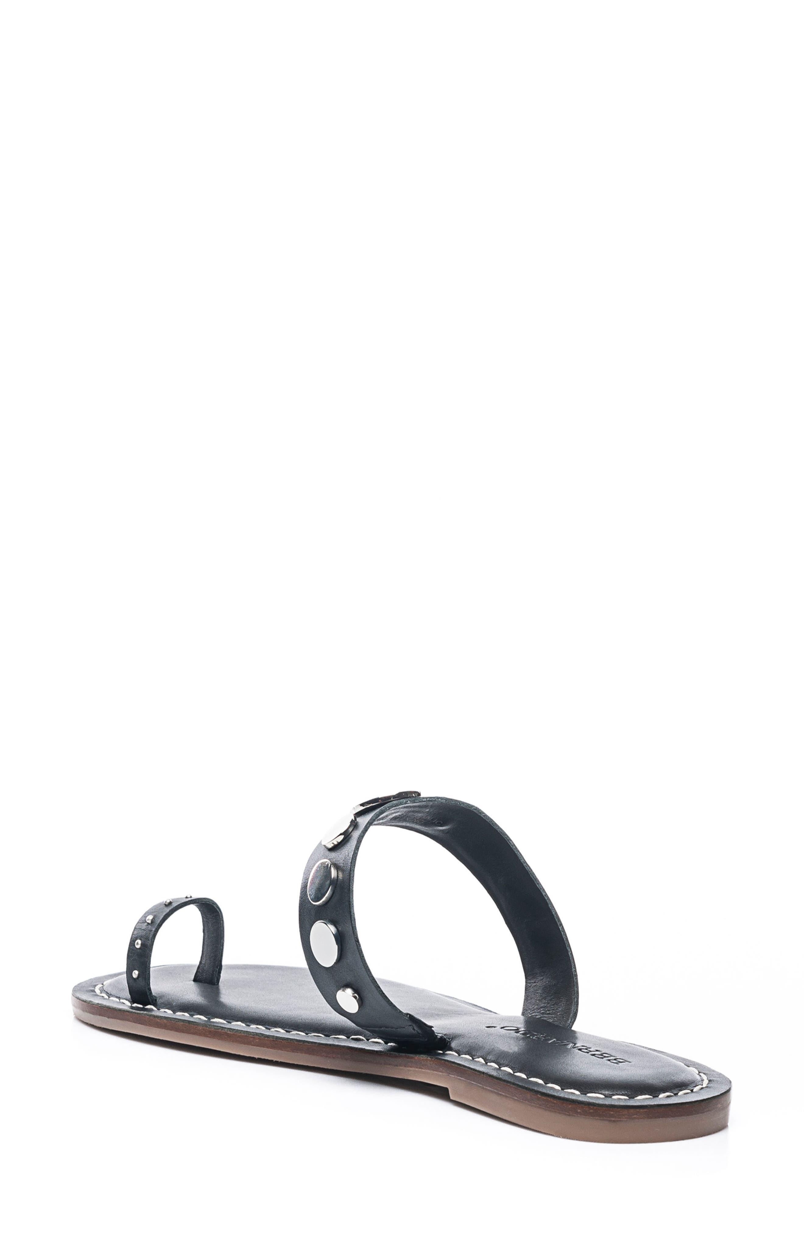 Bernardo Mattie Toe Ring Sandal,                             Alternate thumbnail 2, color,                             001