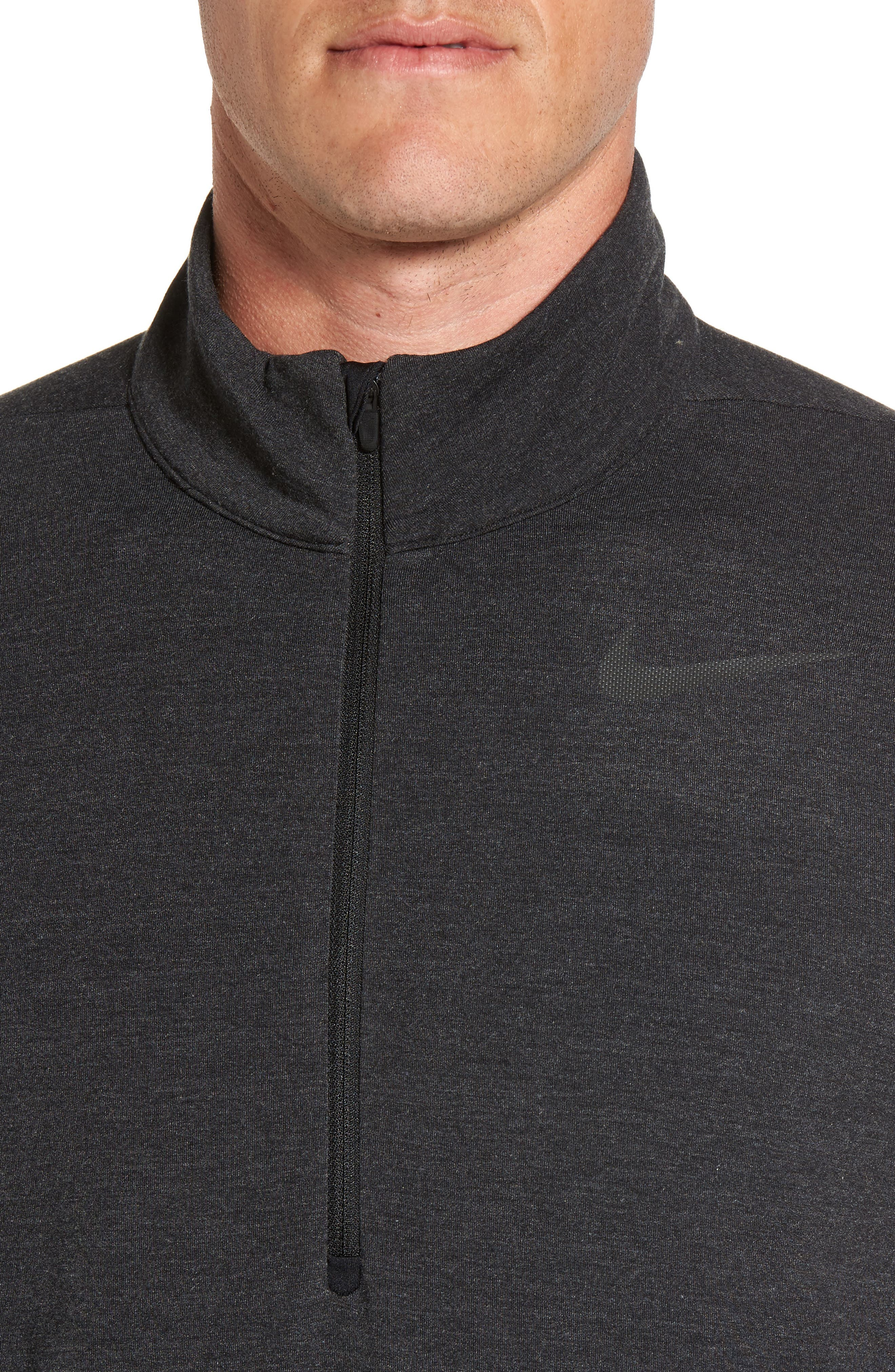 Dry Training Quarter Zip Pullover,                             Alternate thumbnail 4, color,                             010