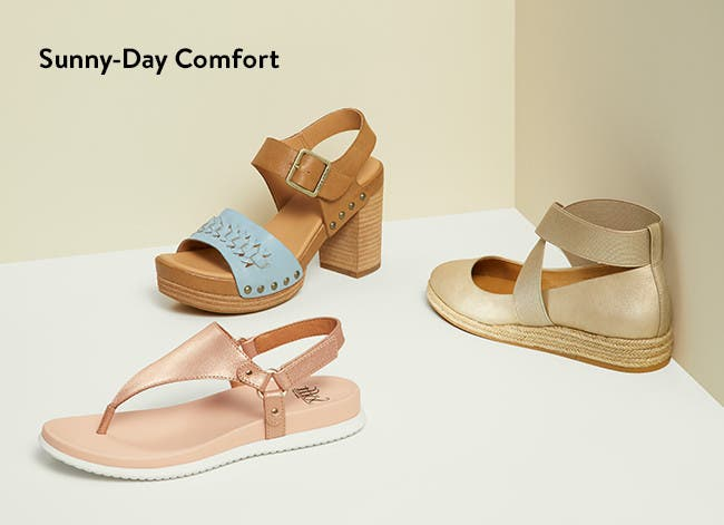 Women's comfort shoes.