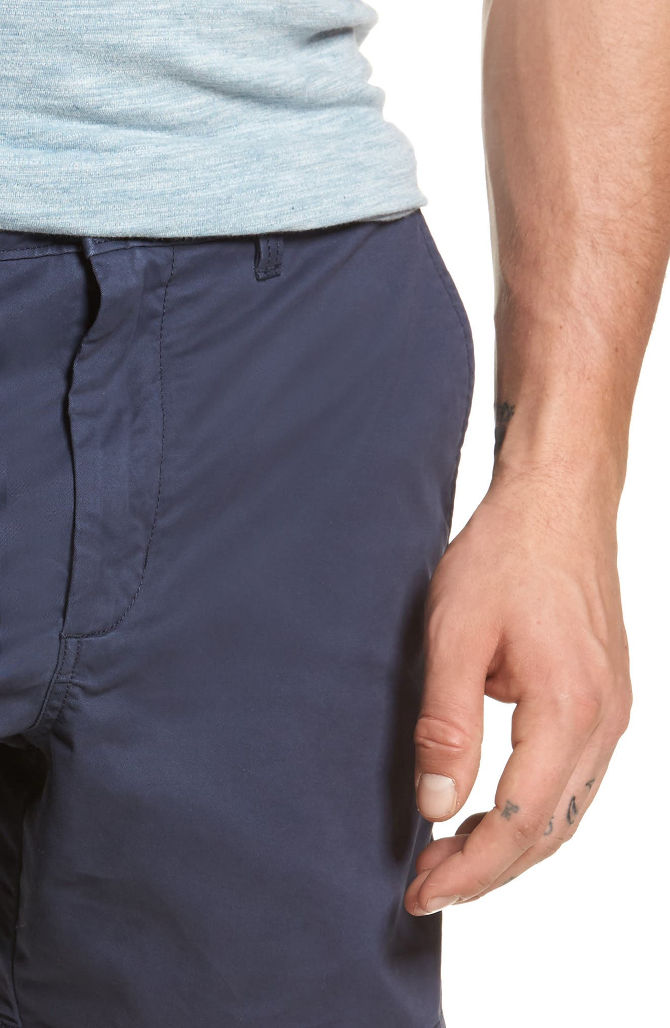 Ballard Slim Fit Stretch Chino 7-Inch Shorts,                             Alternate thumbnail 43, color,