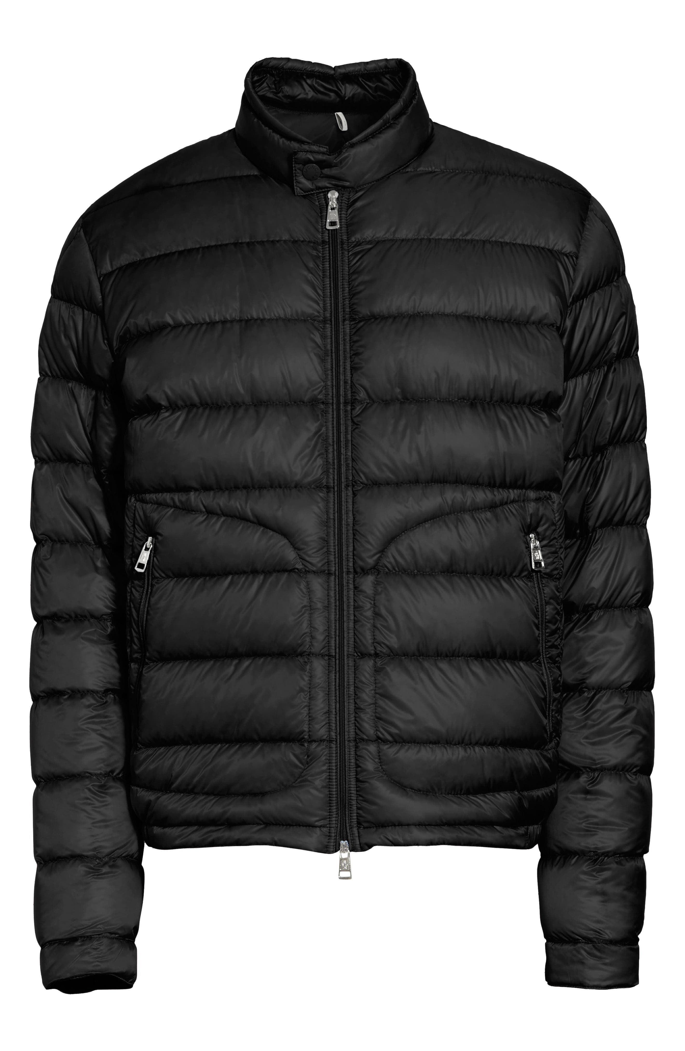 Acorus Down Quilted Jacket,                             Alternate thumbnail 5, color,                             001