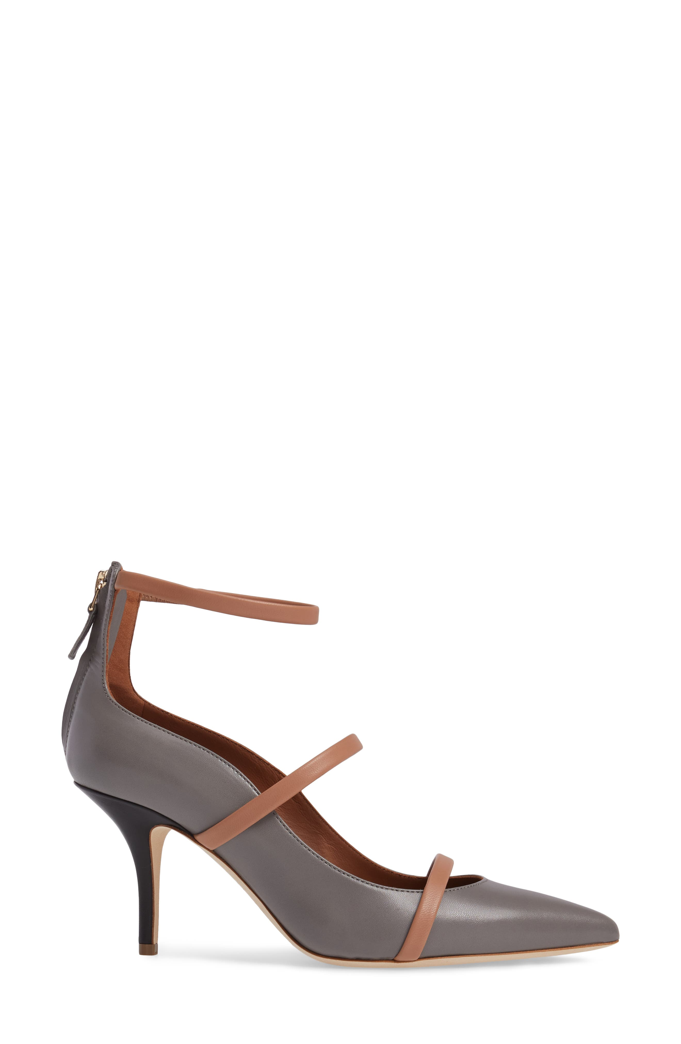 Robyn Ankle Strap Pump,                             Alternate thumbnail 3, color,                             020