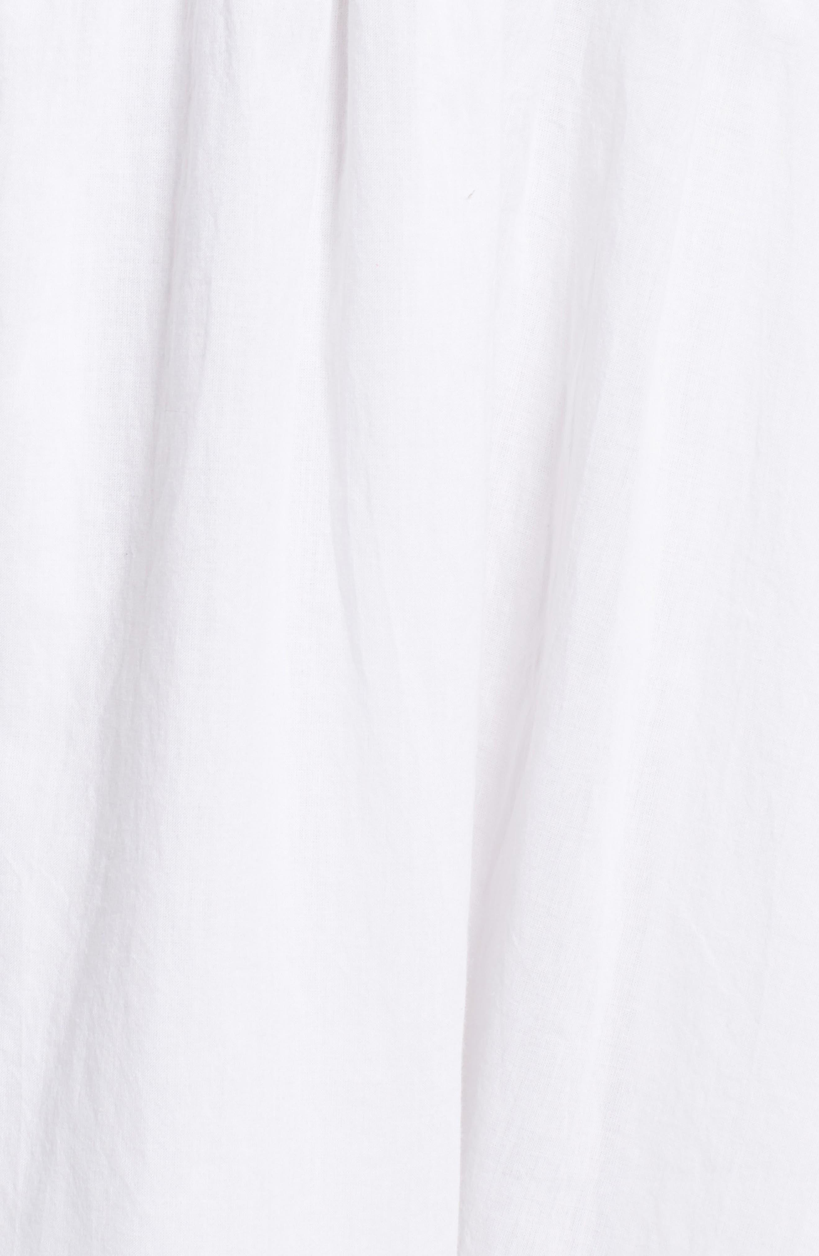 Lace Bib Dress,                             Alternate thumbnail 5, color,                             100