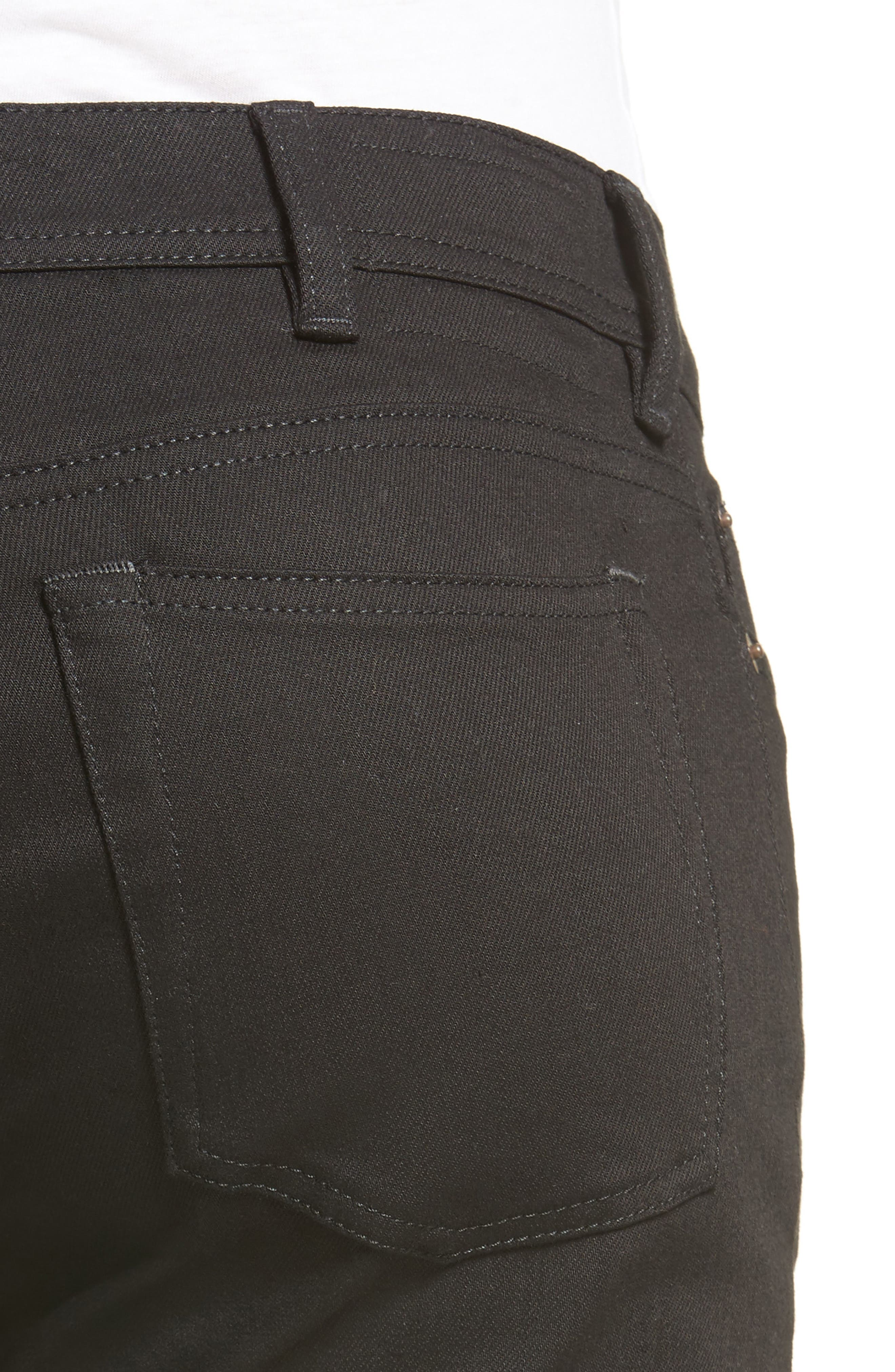 North Skinny Jeans,                             Alternate thumbnail 4, color,                             001
