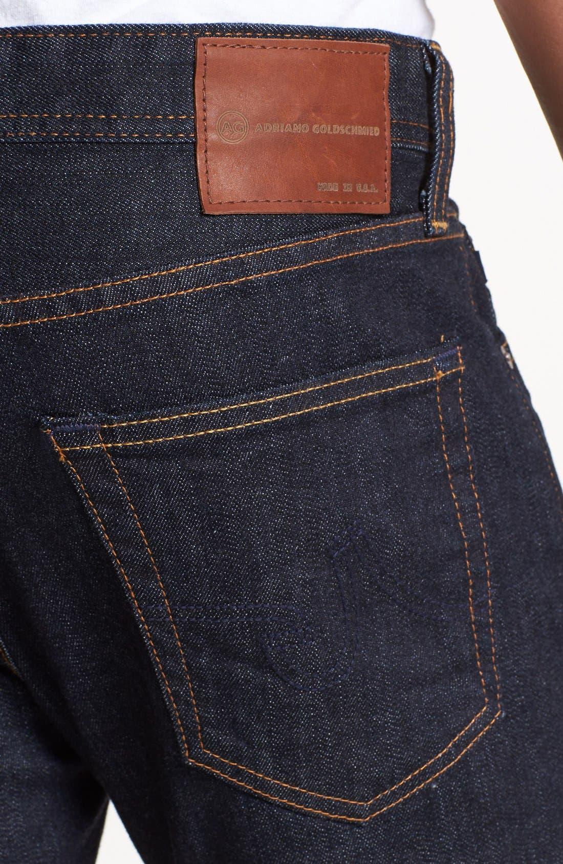 AG,                             'Dylan' Skinny Fit Jeans,                             Alternate thumbnail 4, color,                             JACK