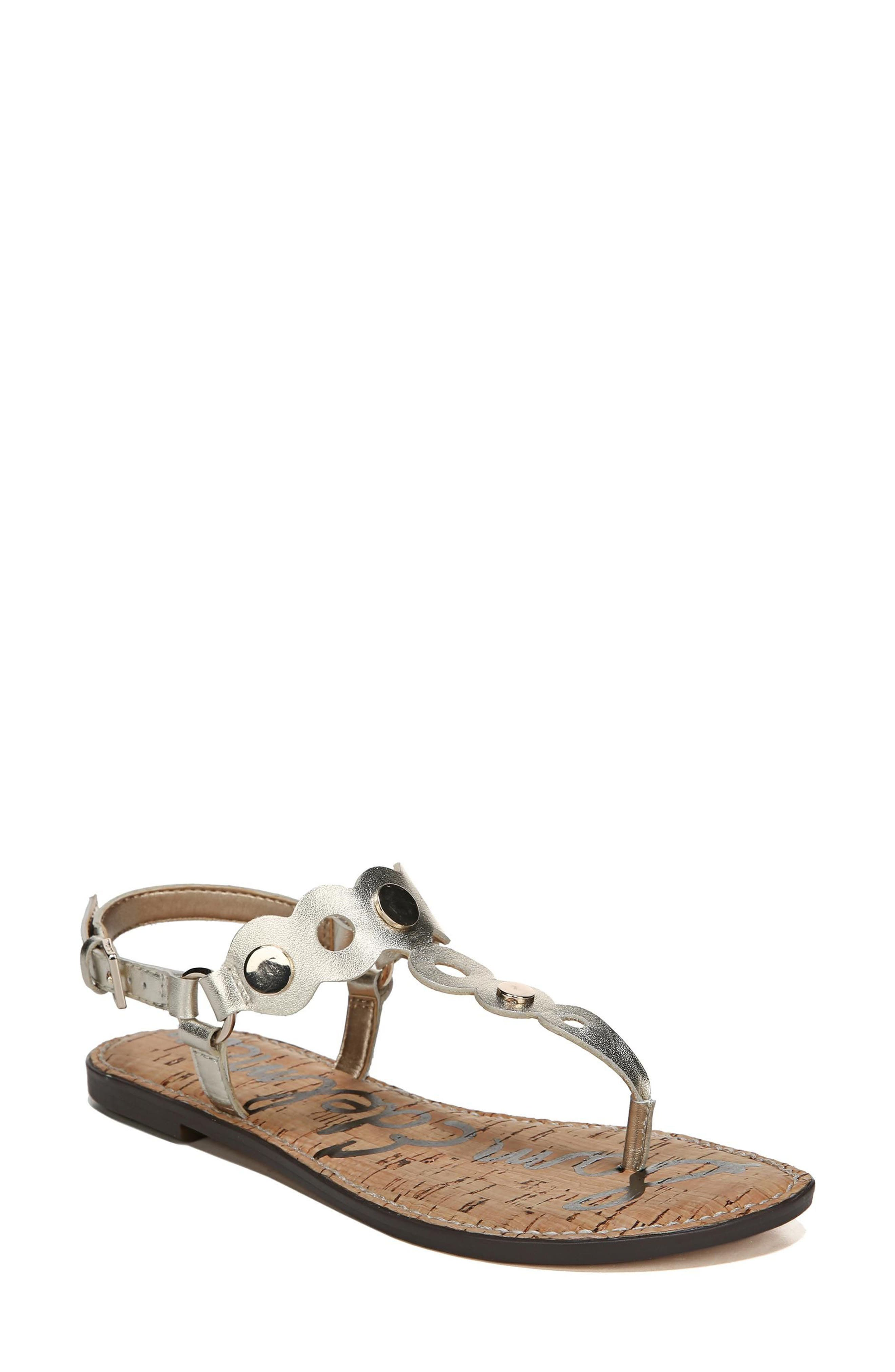 Gilly T-Strap Sandal,                             Main thumbnail 2, color,