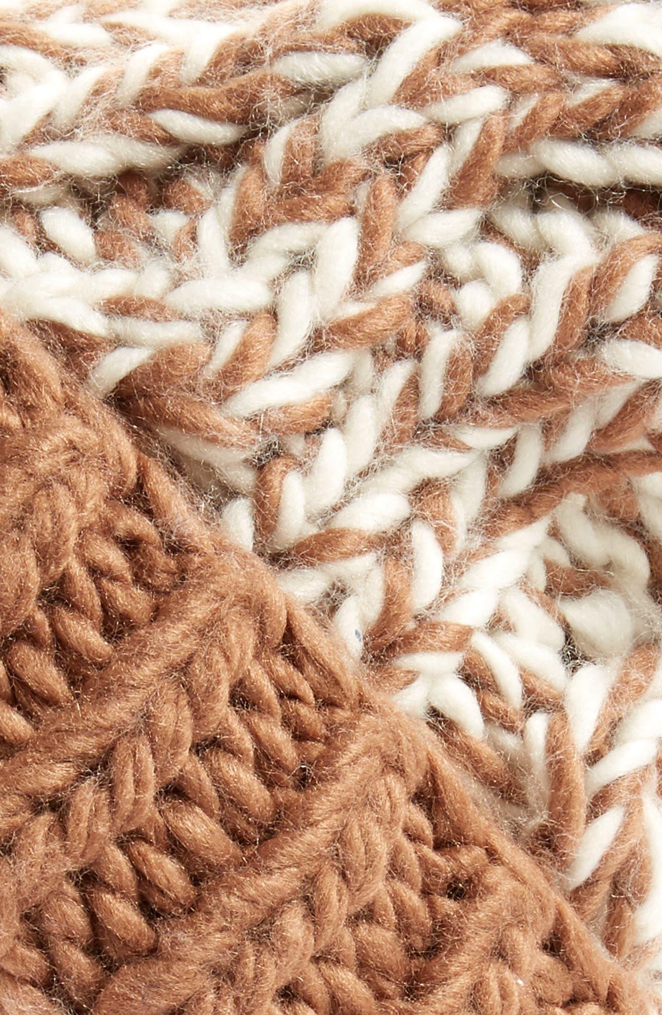 Treasure&Bond Stripe Knit Beanie,                             Alternate thumbnail 5, color,