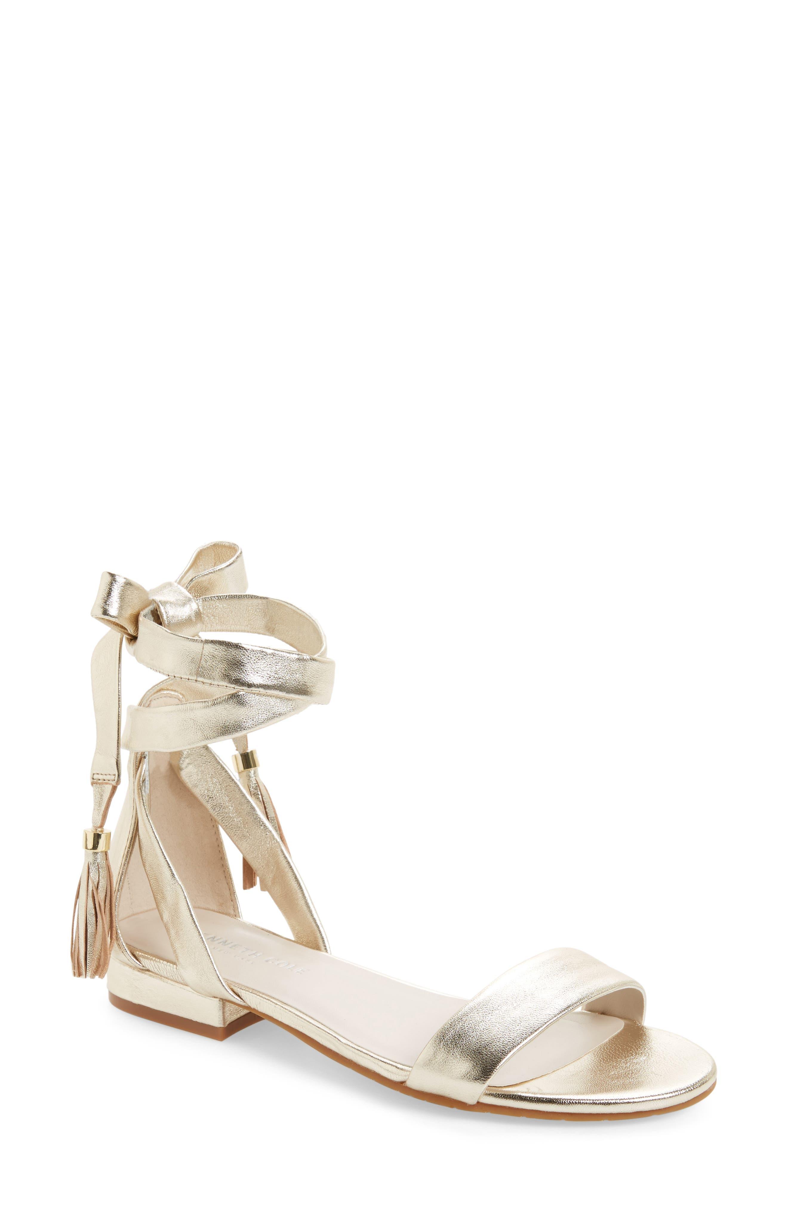 Valen Tassel Lace-Up Sandal,                             Main thumbnail 13, color,