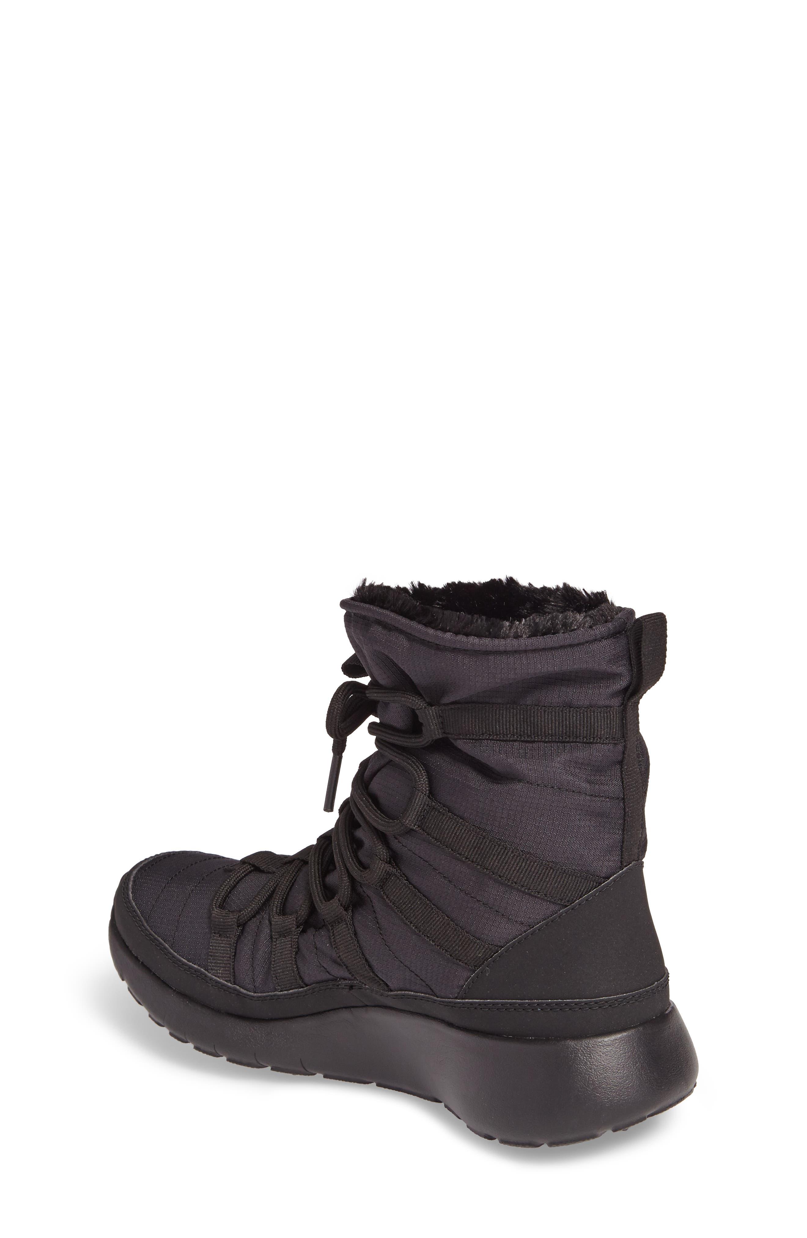 'Roshe One Hi' Water Repellent Boot,                             Alternate thumbnail 4, color,