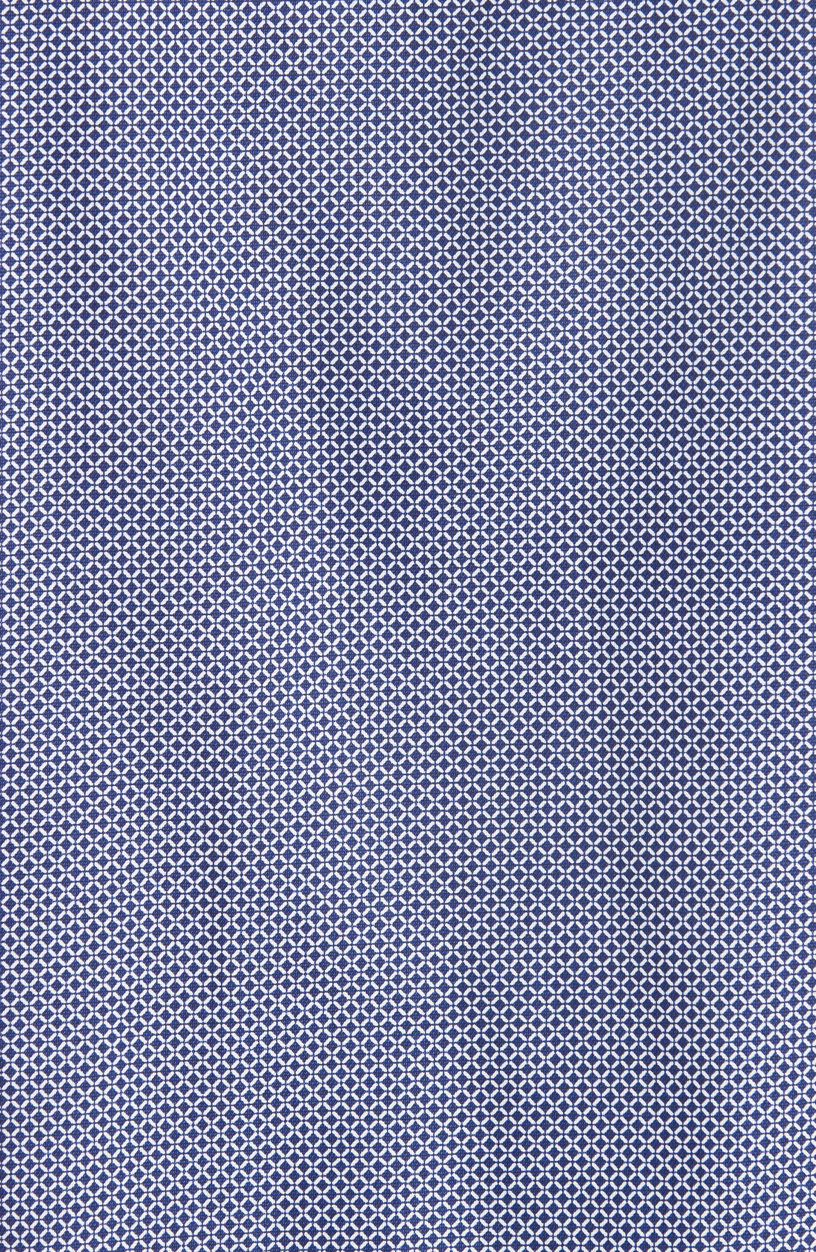 Regular Fit Sport Shirt,                             Alternate thumbnail 5, color,                             BLUE