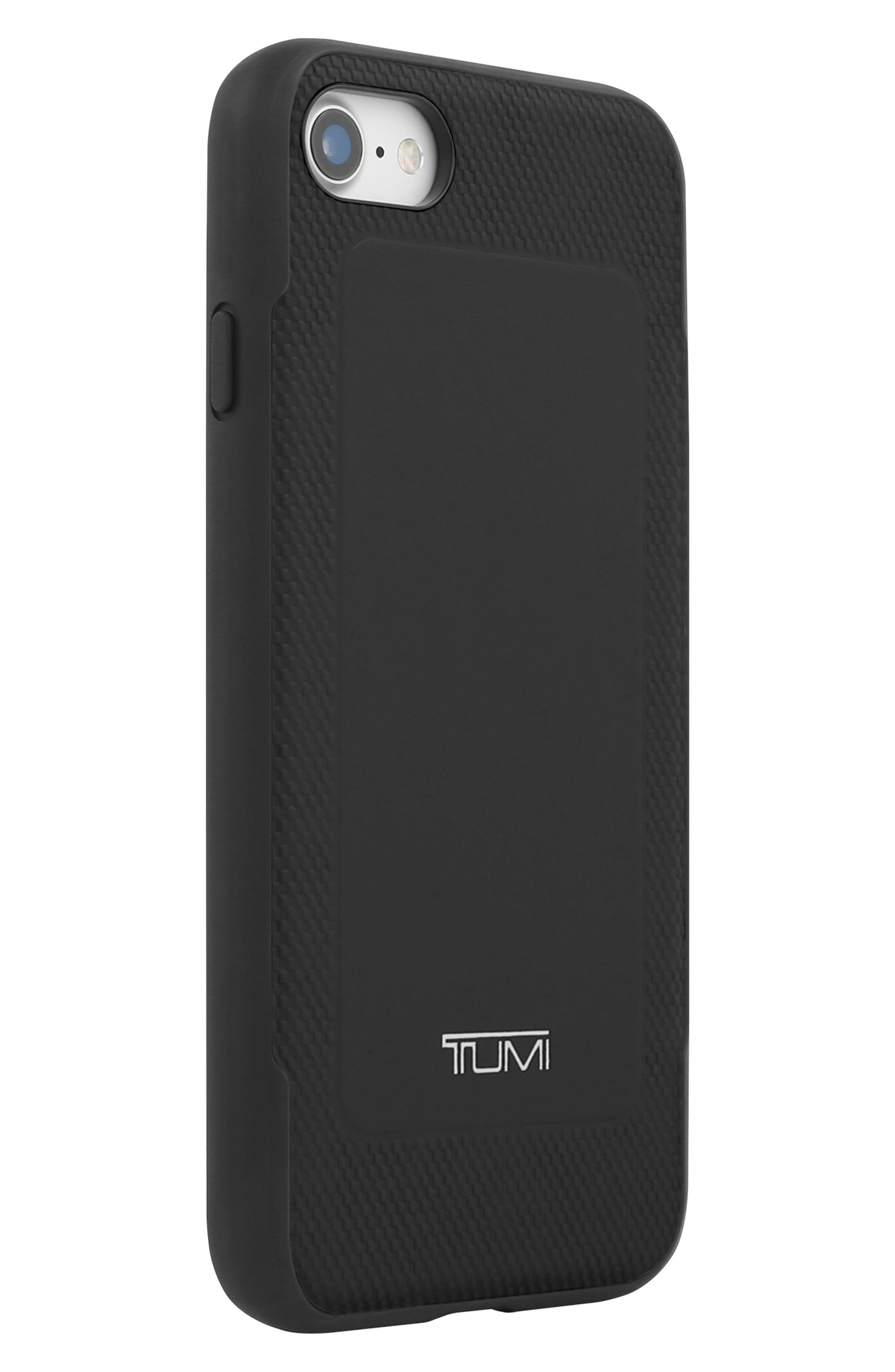 Leather iPhone 8 Case,                             Alternate thumbnail 5, color,