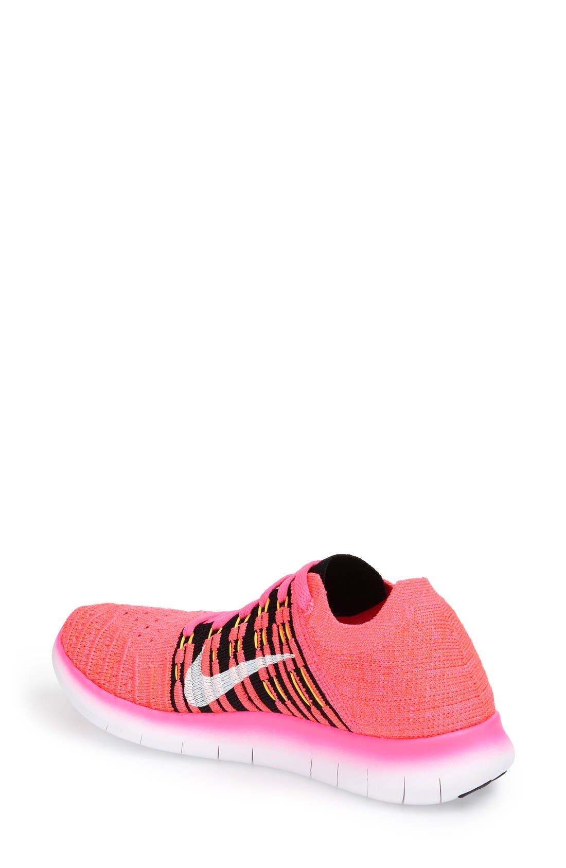 'Free Flyknit' Running Shoe,                             Alternate thumbnail 54, color,