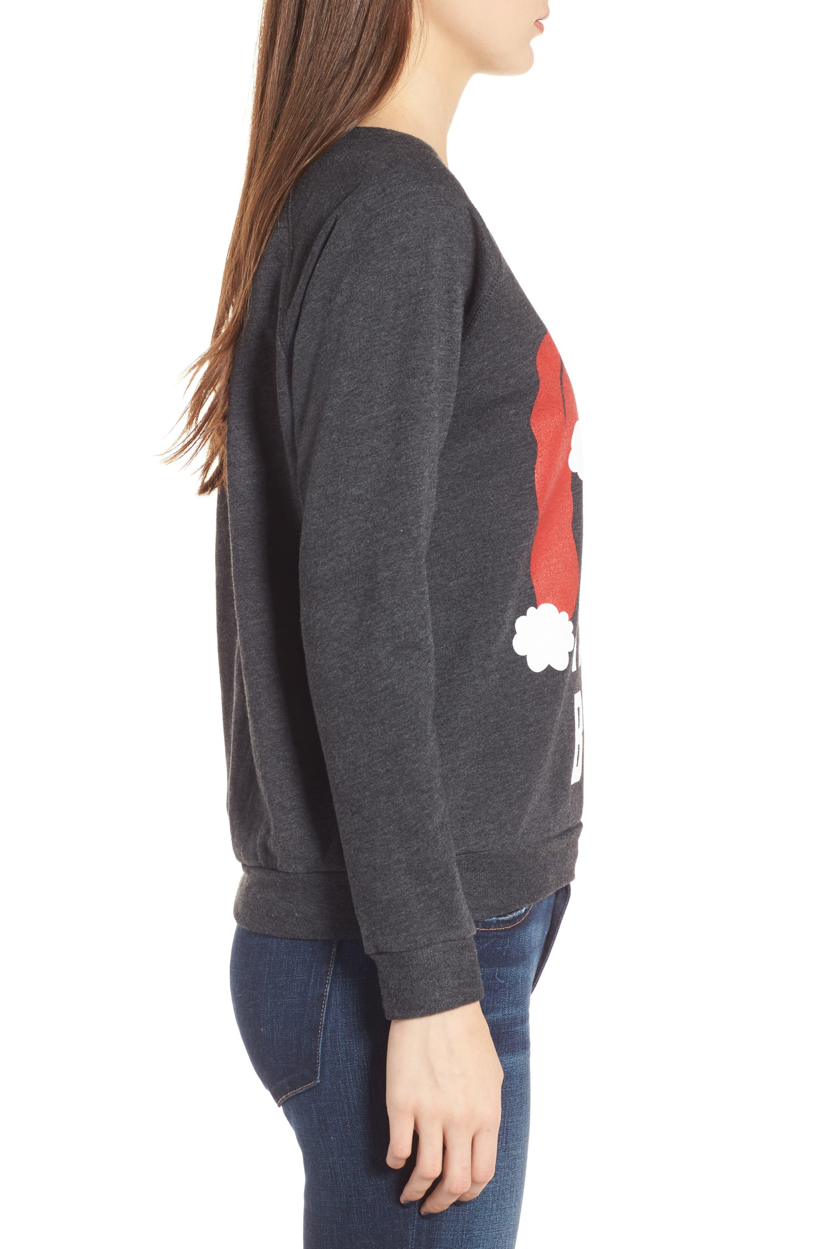 Santa Is My Bae Pullover,                             Alternate thumbnail 3, color,                             020